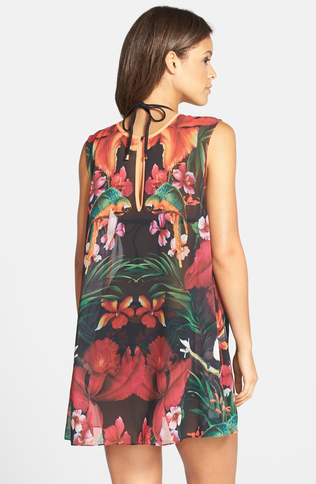 Alternate Image 2  - Ted Baker London 'Tropical Toucan' Cover-Up Tunic