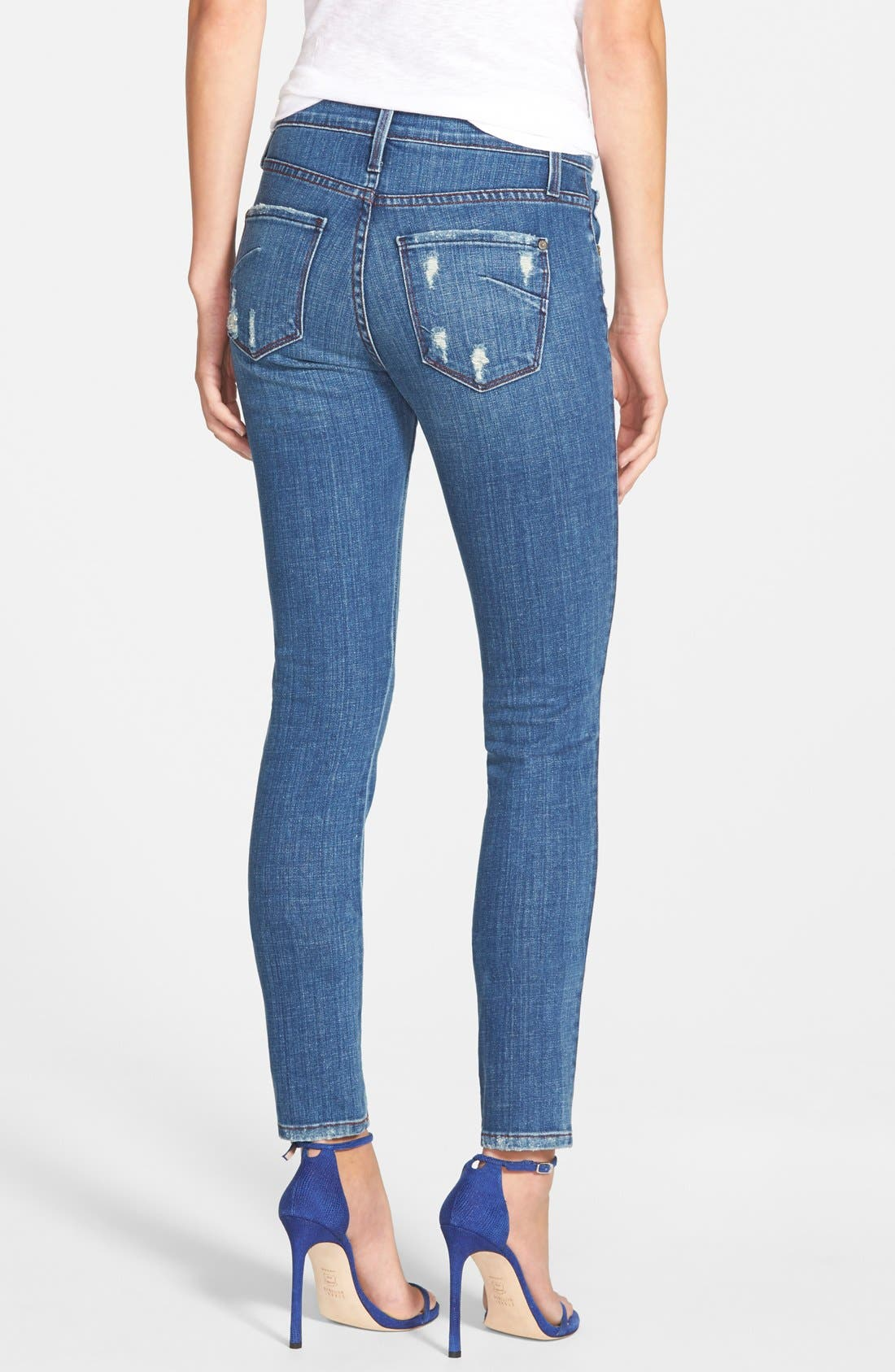 Alternate Image 2  - James Jeans Five Pocket Leggings (Indio)