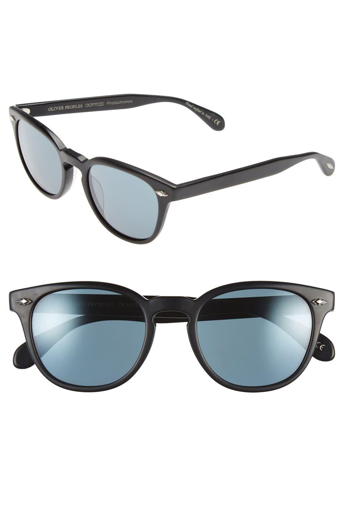 Main Image - Oliver Peoples 'Sheldrake Plus' 52mm Retro Sunglasses