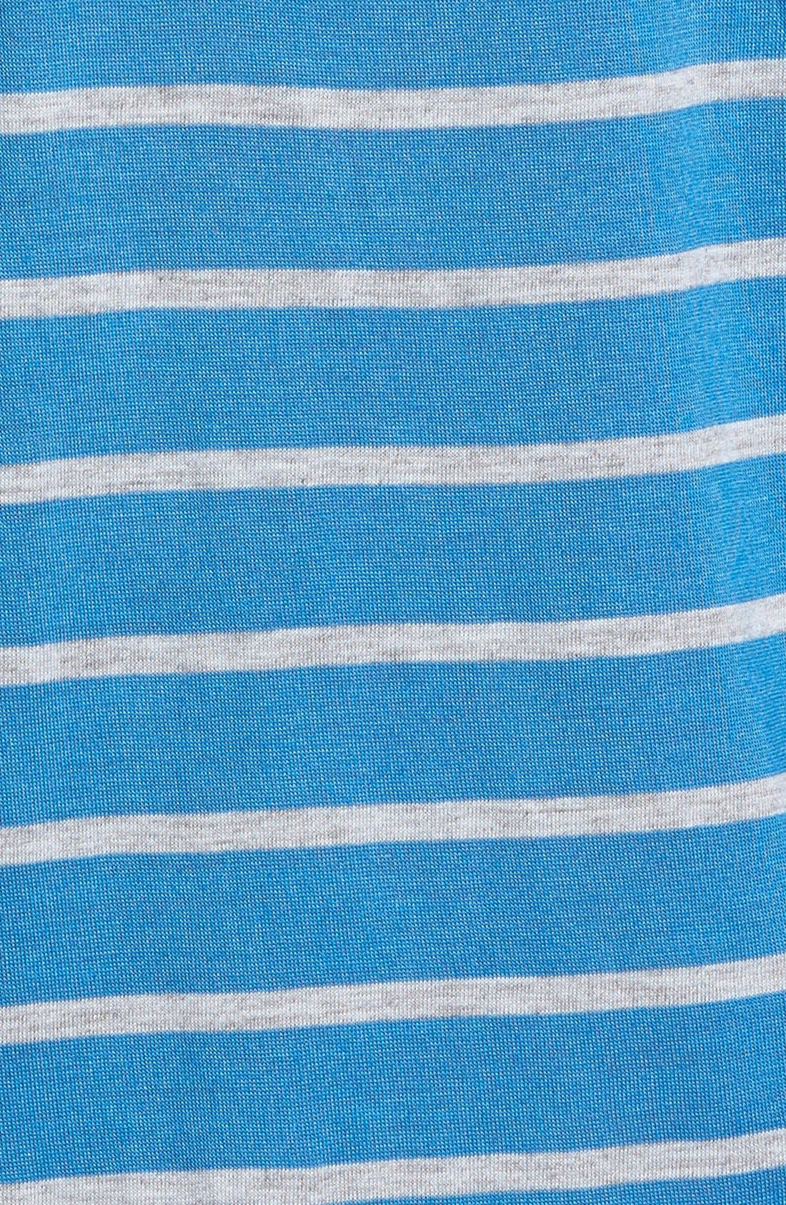 Alternate Image 3  - Two by Vince Camuto Braid Trim Stripe Tee