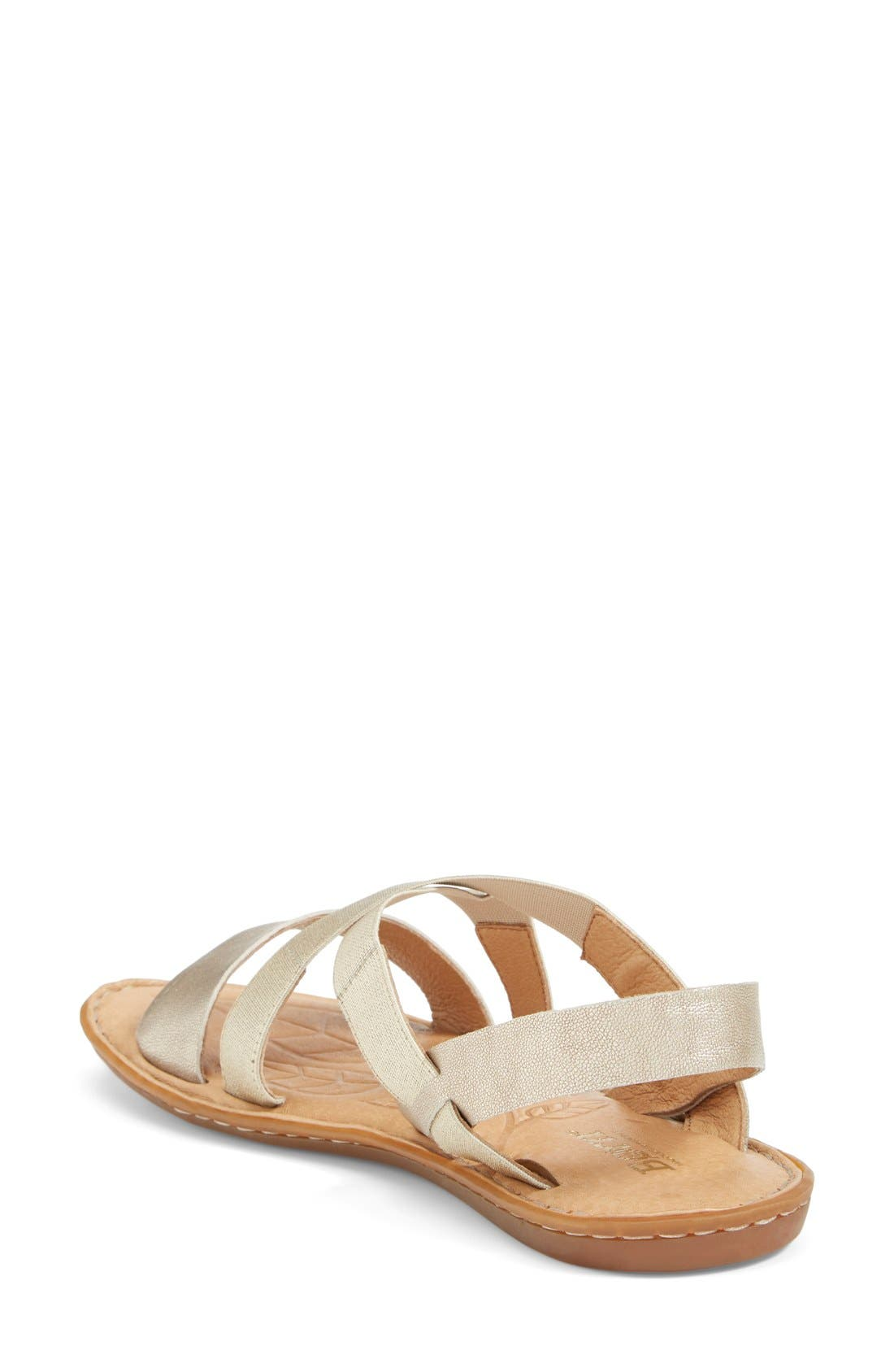 Alternate Image 2  - Børn 'Icelyn' Flat Sandal (Women)
