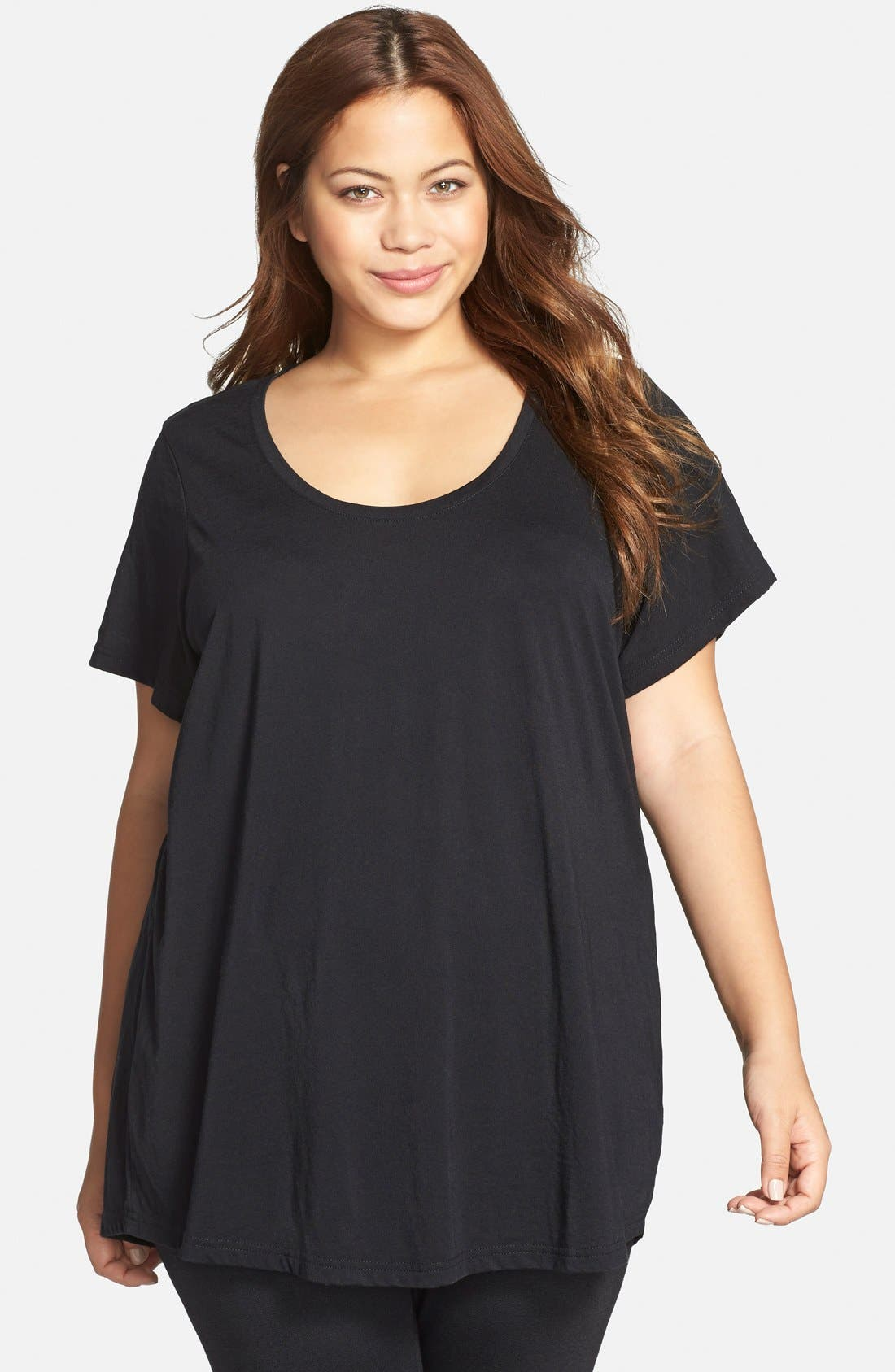 Alternate Image 1 Selected - Make + Model 'Gotta Have It' Tee (Plus Size) (2 for $45)