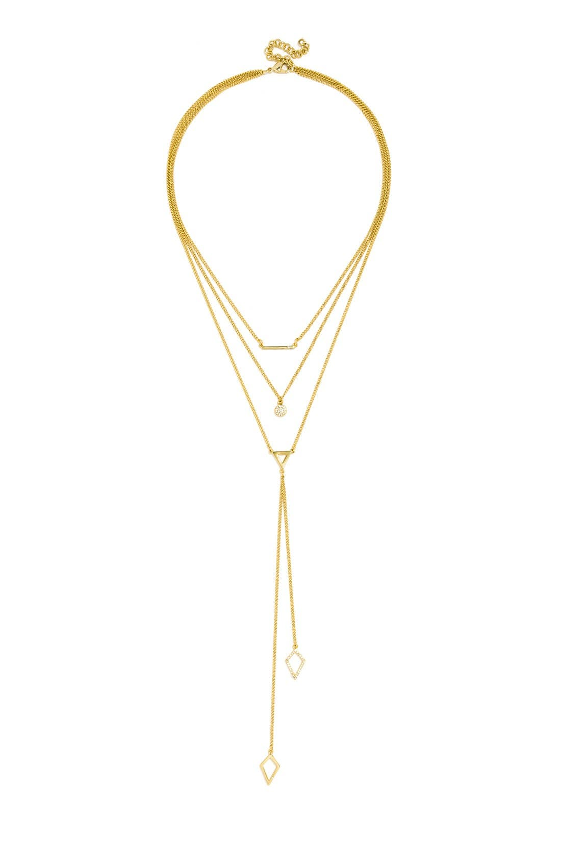 Alternate Image 3  - BaubleBar 'Facets' Layered Necklace