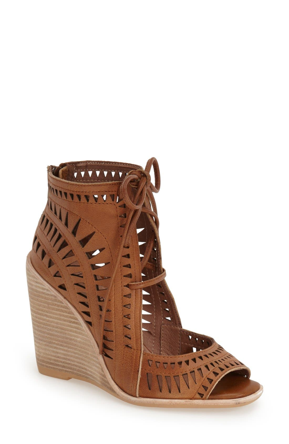 Alternate Image 1 Selected - Jeffrey Campbell 'Rodillo-Hi' Wedge Sandal (Women)
