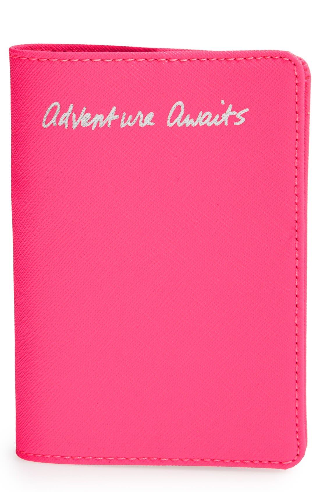 Alternate Image 1 Selected - Rebecca Minkoff 'Adventure Awaits' Passport Holder