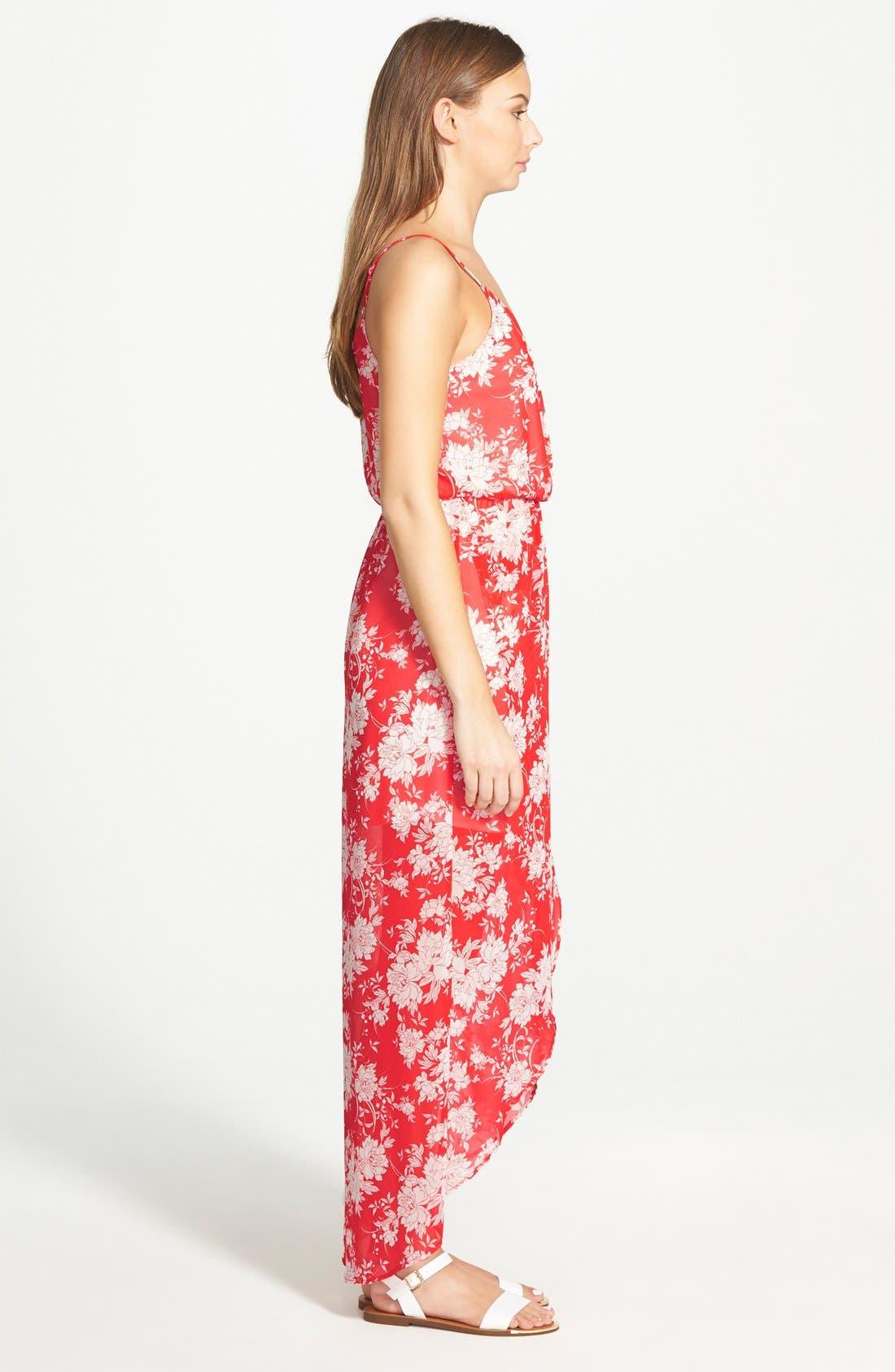 Alternate Image 3  - Lush Tulip Hem Maxi Dress