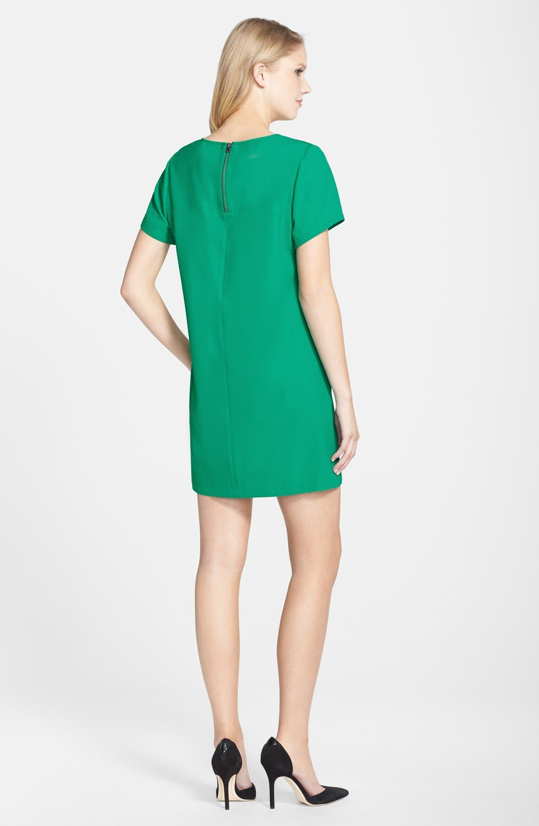 Alternate Image 3  - Felicity & Coco Crepe Shift Dress (Nordstrom Exclusive)