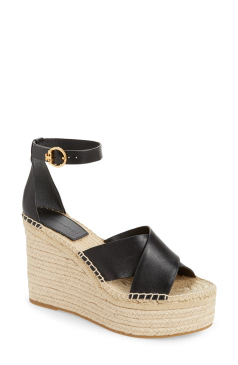 토리버치 셀비 에스파드류 웻지 샌들 Tory Burch Selby Espadrille Wedge Sandal,perfect black/ perfect black