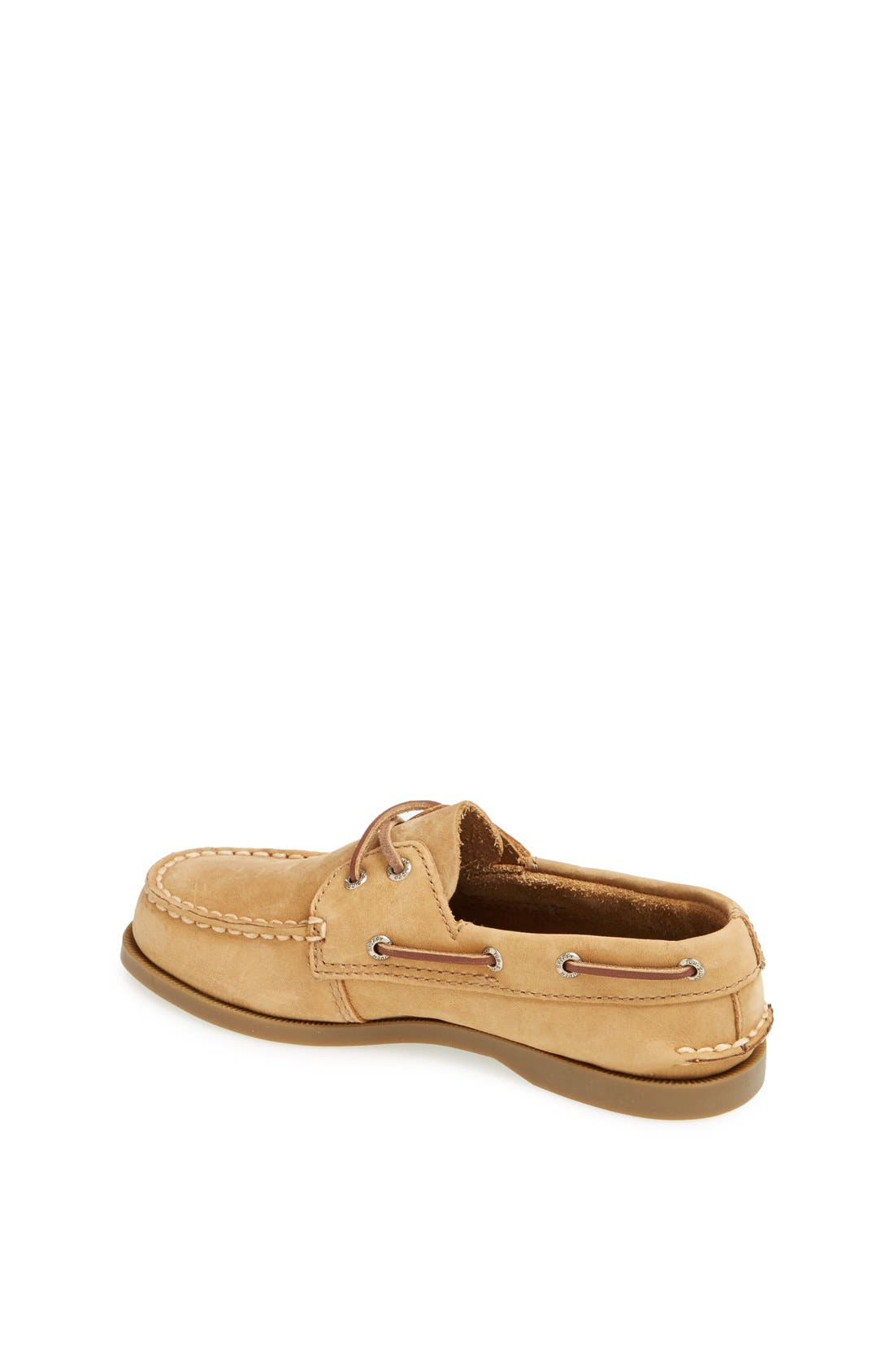 Alternate Image 5  - Sperry Kids 'Authentic Original' Boat Shoe (Walker & Toddler)