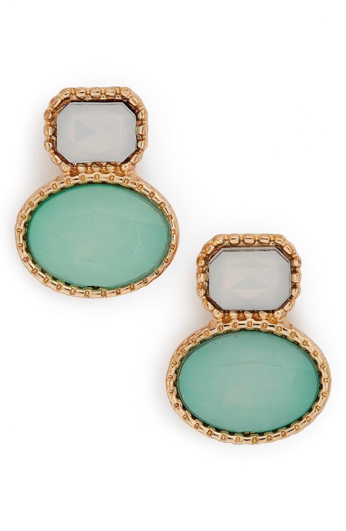 Alternate Image 1 Selected - BP. Stone Drop Earrings