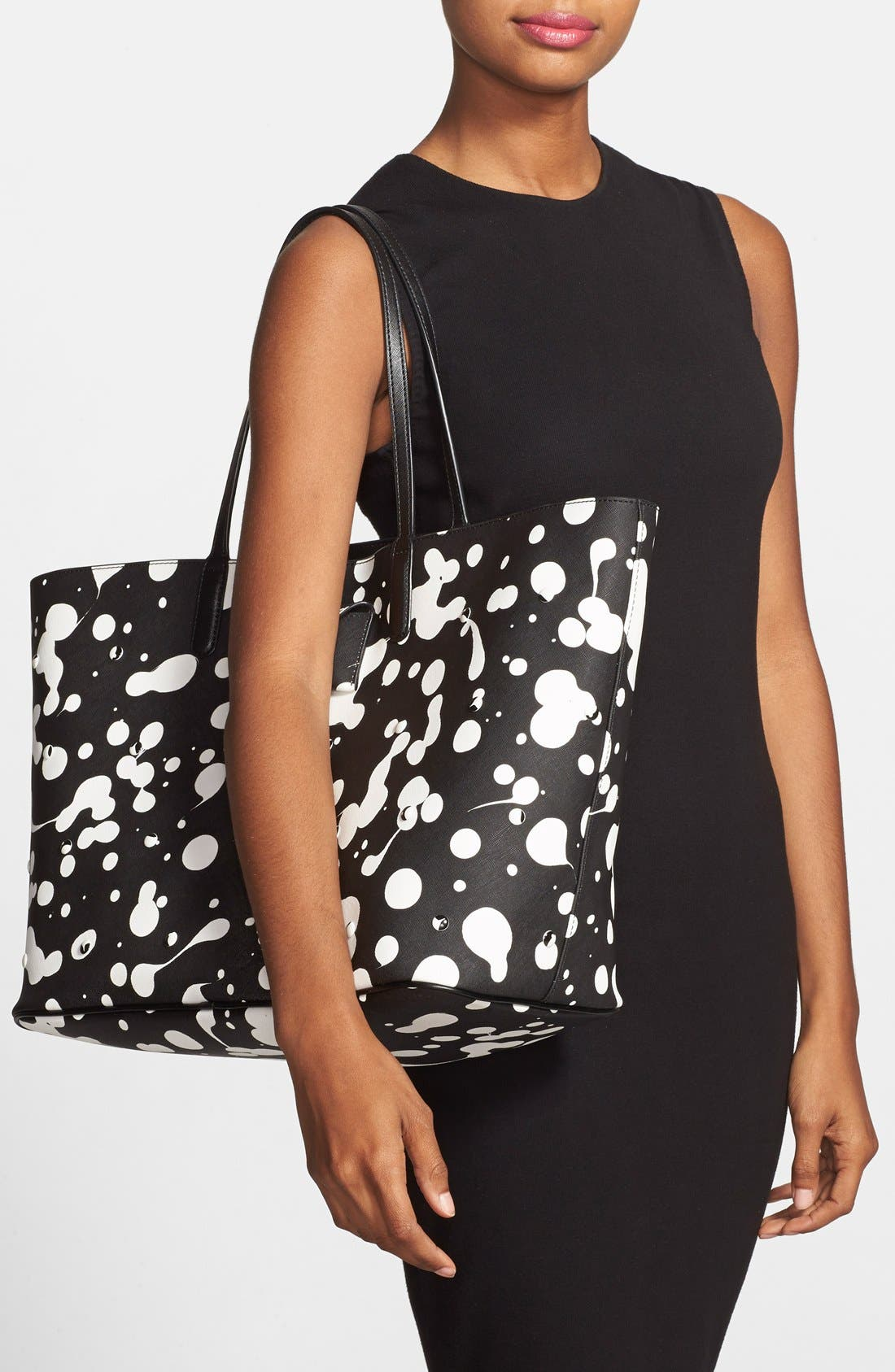 Alternate Image 2  - MARC BY MARC JACOBS 'Metropoli Oil Drop Studs' Travel Tote