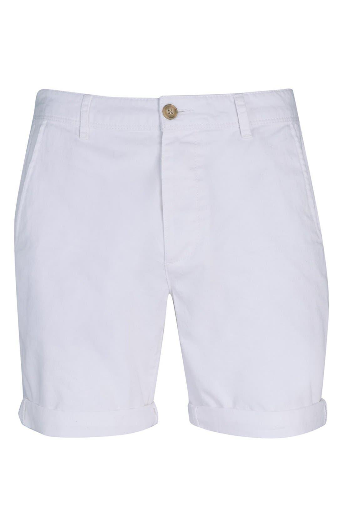 Alternate Image 3  - Topman Chino Shorts