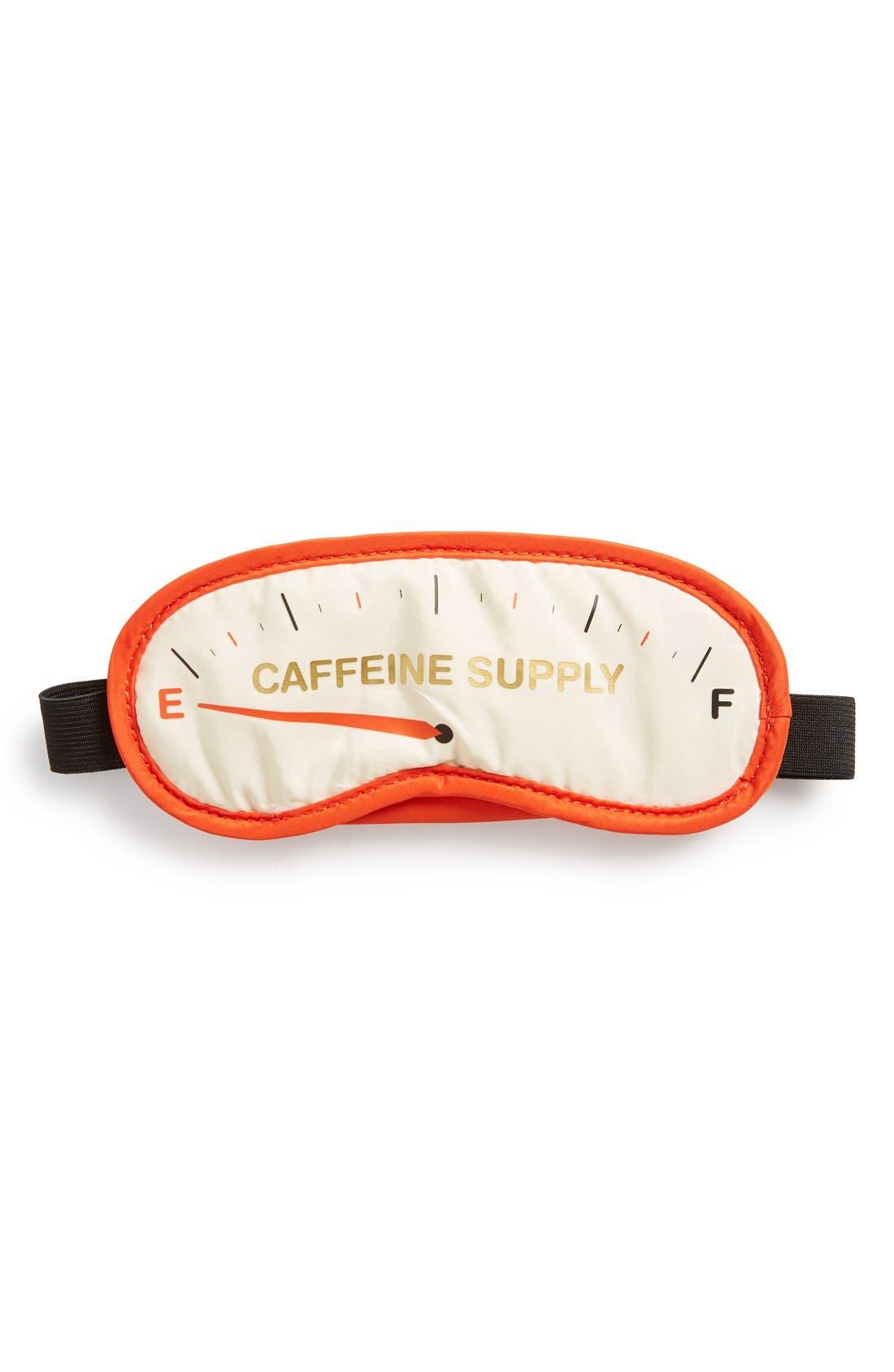 Alternate Image 1 Selected - Flight 001 'Caffeine Supply' Sleep Mask