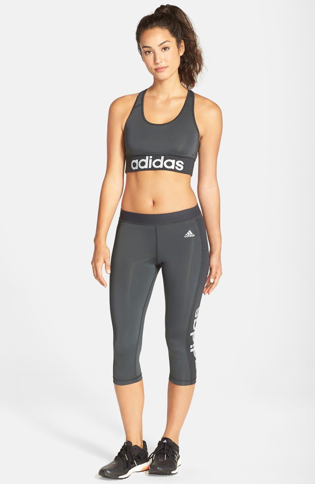Alternate Image 3  - adidas'Techfit™ - Knockout' Sports Bra