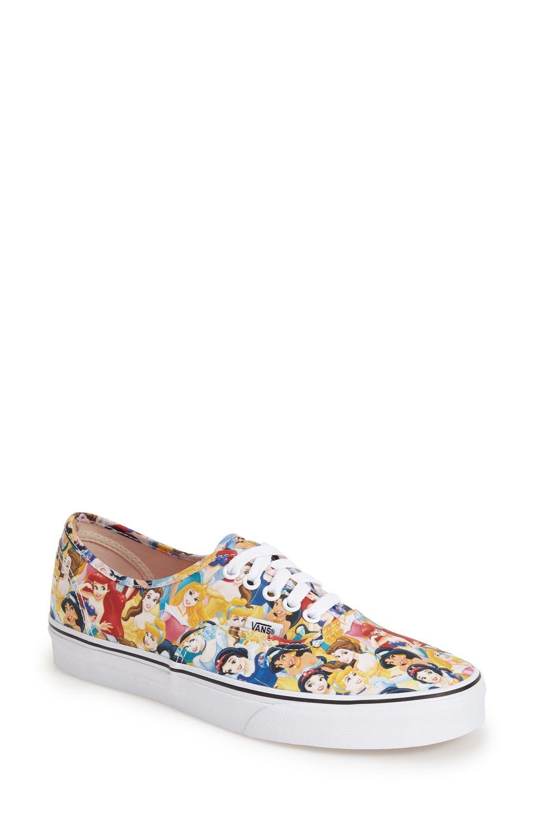 Main Image - Vans 'Authentic - Disney®' Sneaker (Women)