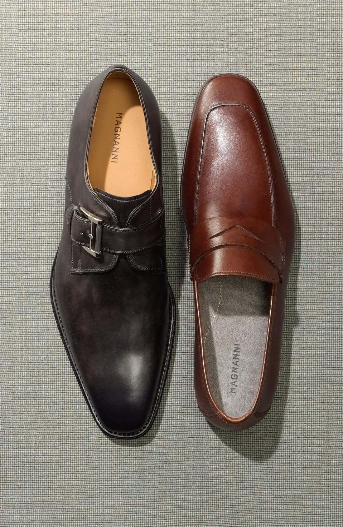 Alternate Image 3  - Magnanni 'Ramiro' Penny Loafer (Men)