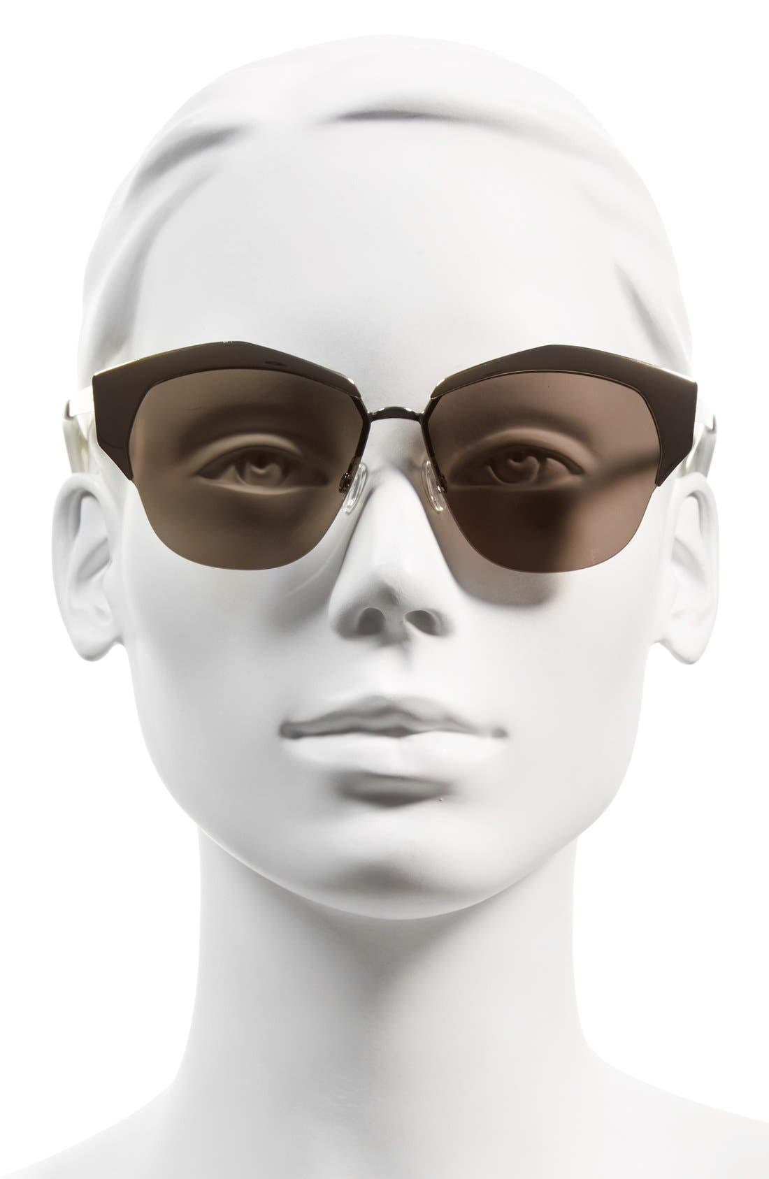 Alternate Image 2  - Dior 'Mirrors' 55mm Cat Eye Sunglasses (Regular Retail Price: $490.00)
