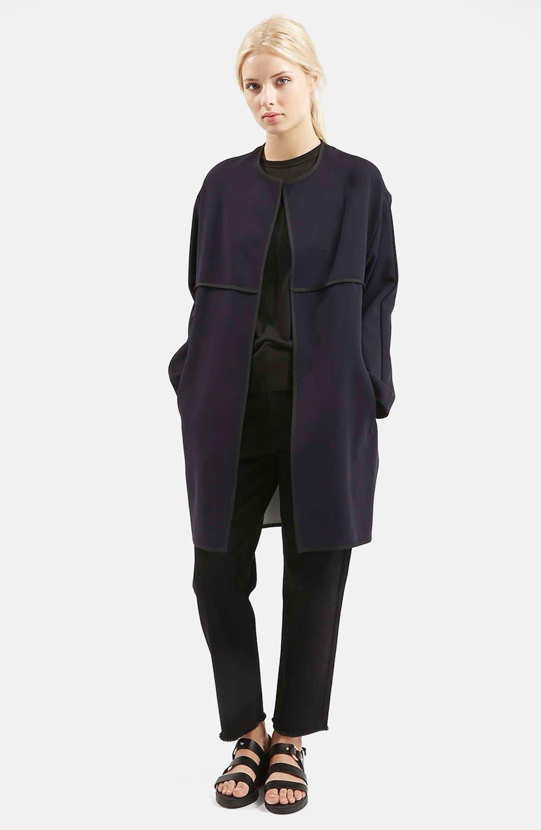Alternate Image 5  - Topshop 'Edge to Edge' Blanket Coat