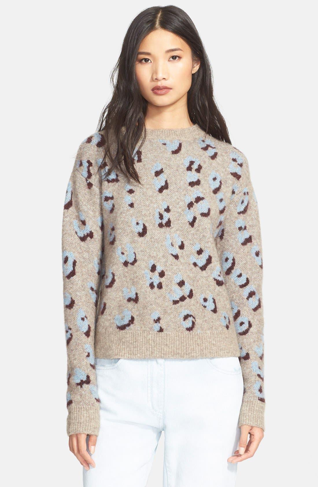 Main Image - 3.1 Phillip Lim Leopard Jacquard Sweater