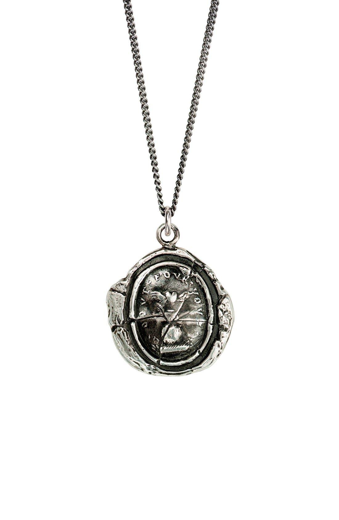 PYRRHA Winged Heart Talisman Necklace