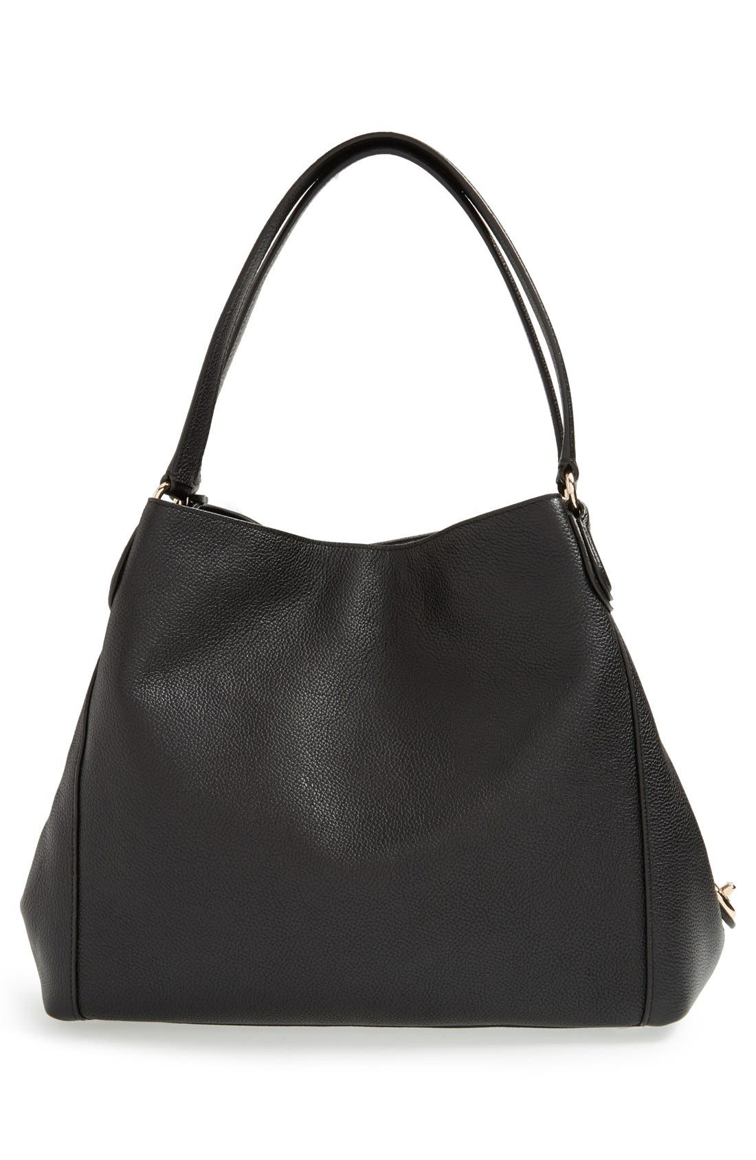 Alternate Image 3  - Coach 'Edie' Pebbled Leather Shoulder Bag