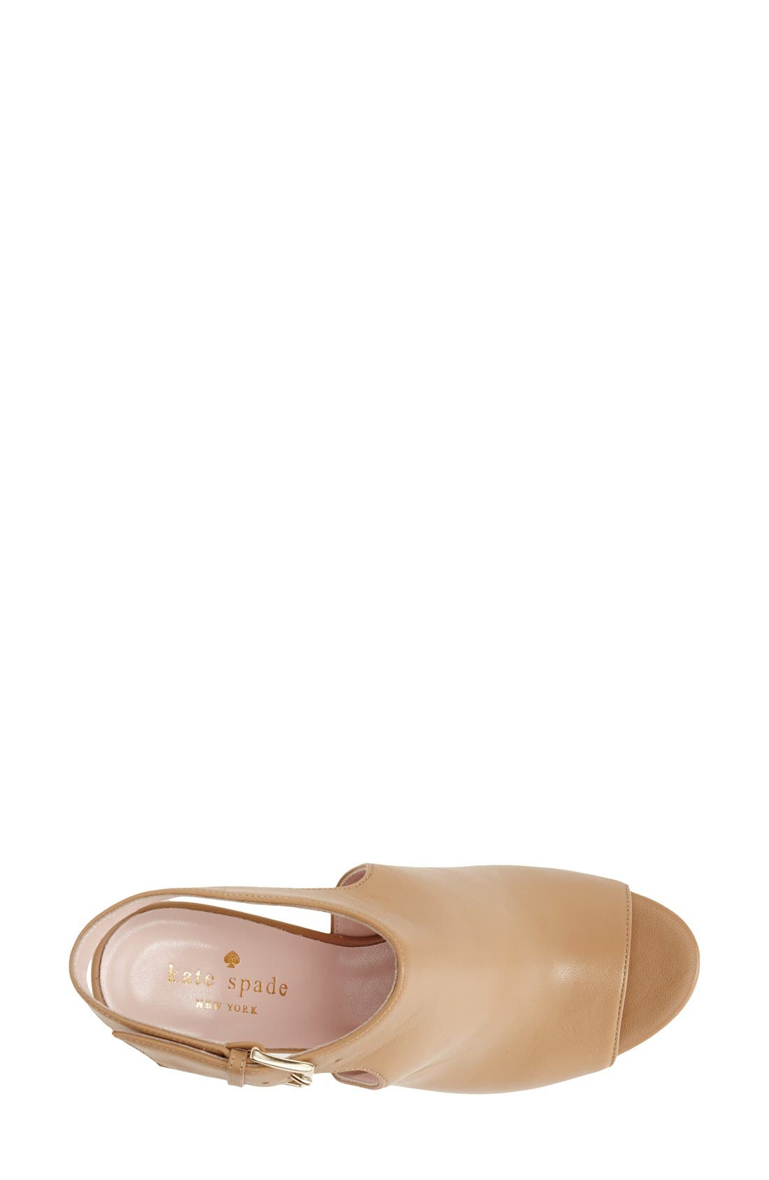 Alternate Image 3  - kate spade new york 'ingrada' slingback sandal (Women)