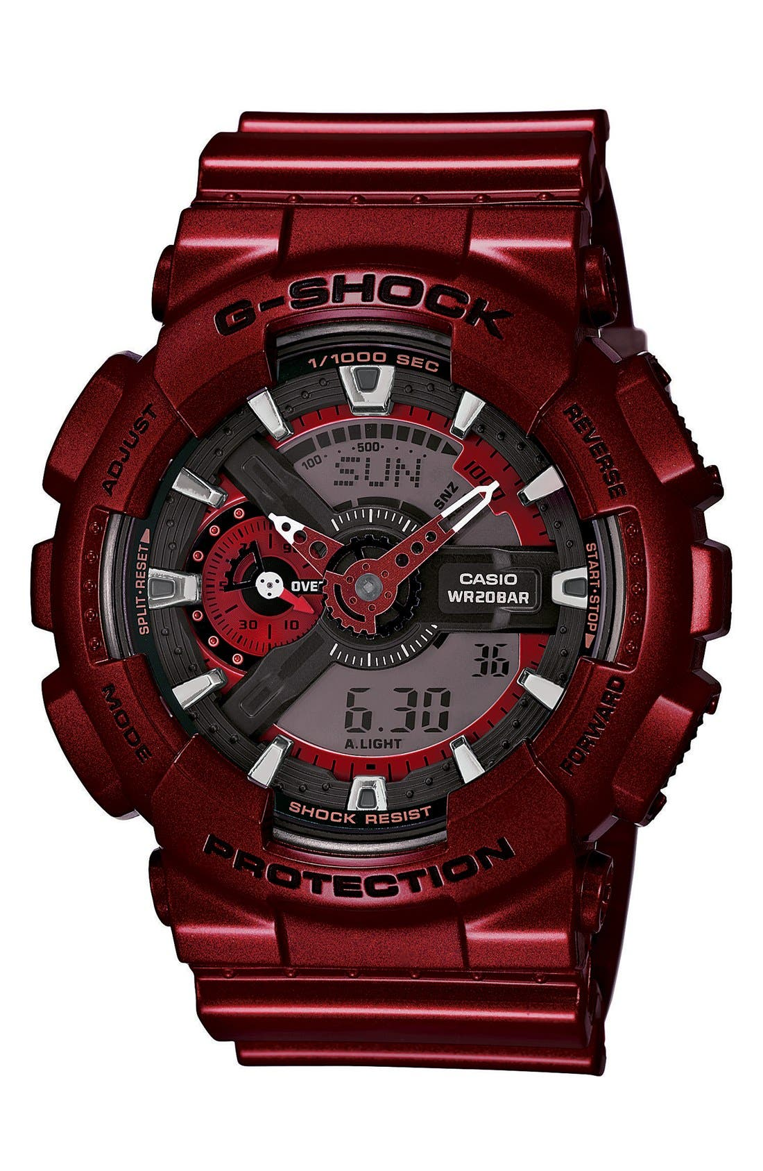 Alternate Image 1 Selected - G-Shock XL Resin Ana-Digi Watch, 55mm