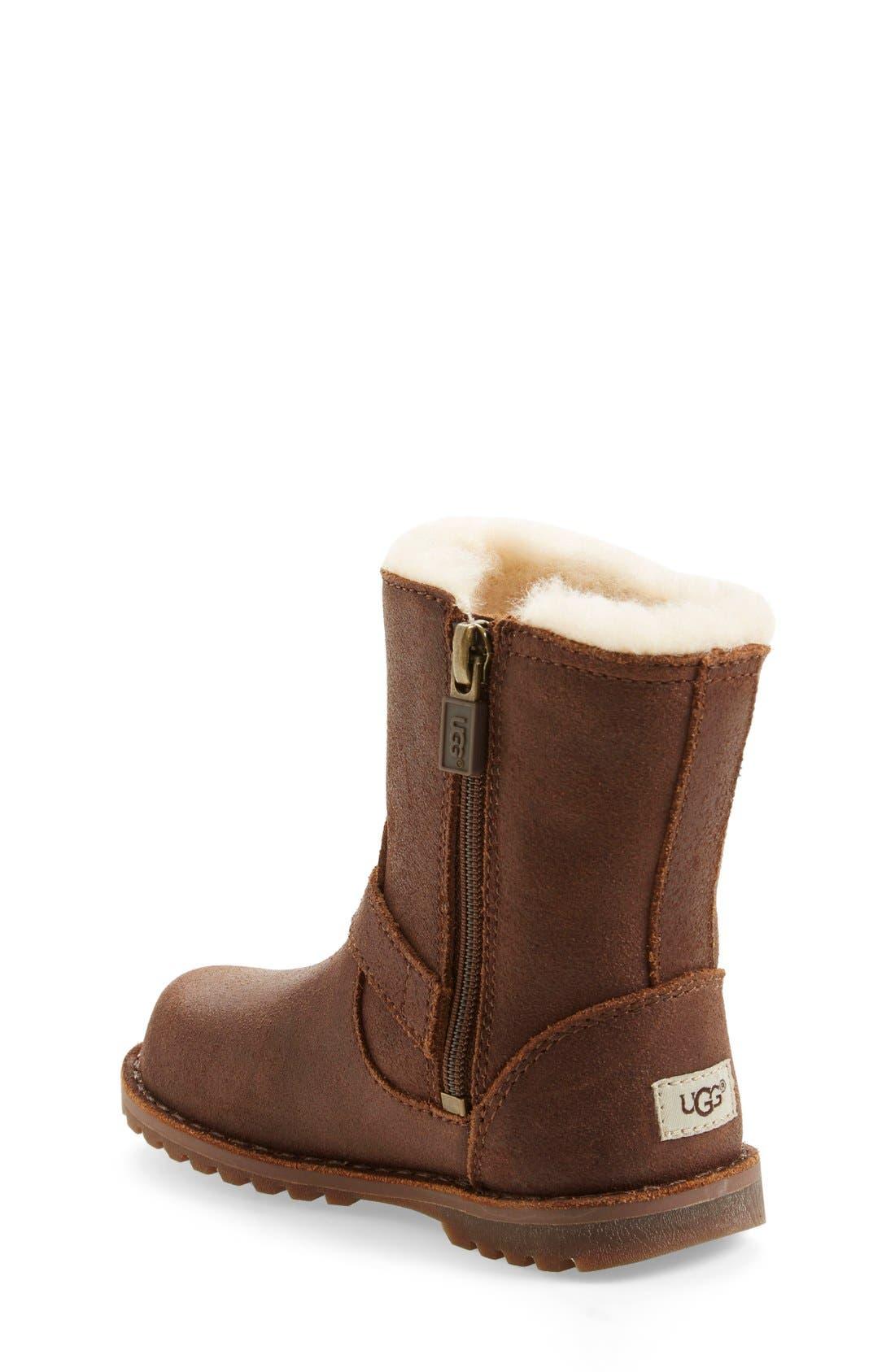 Alternate Image 2  - UGG® 'Holmes' Boot (Walker & Toddler)