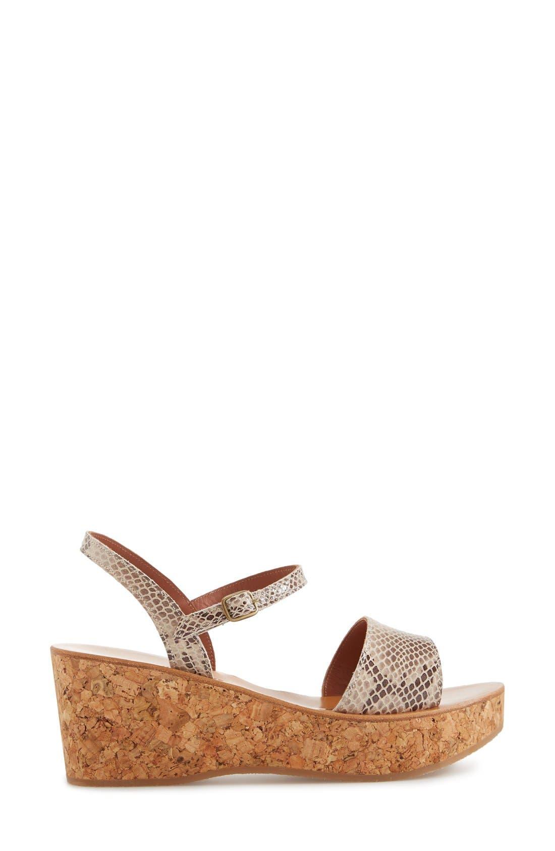 Alternate Image 4  - K.Jacques St. Tropez 'Josy' Ankle Strap Wedge Sandal (Women)