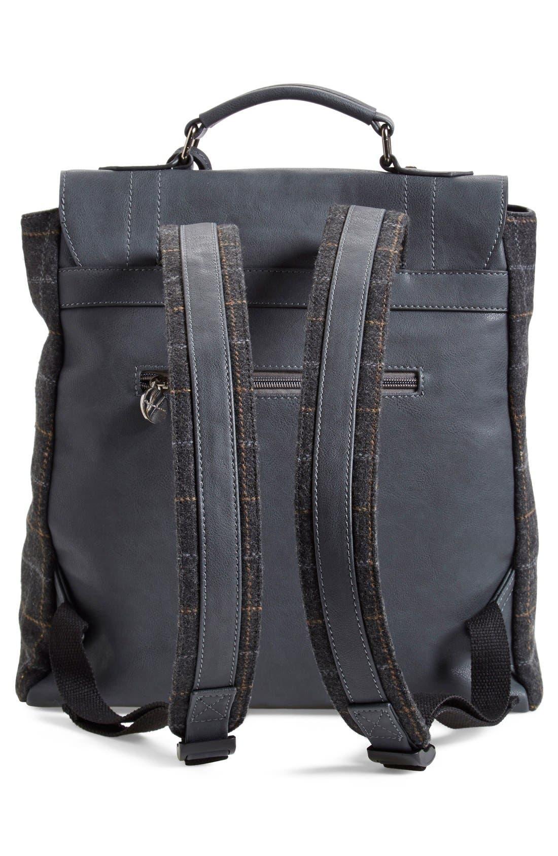 Alternate Image 3  - CXL by Christian Lacroix 'Strasbourg' Plaid Backpack