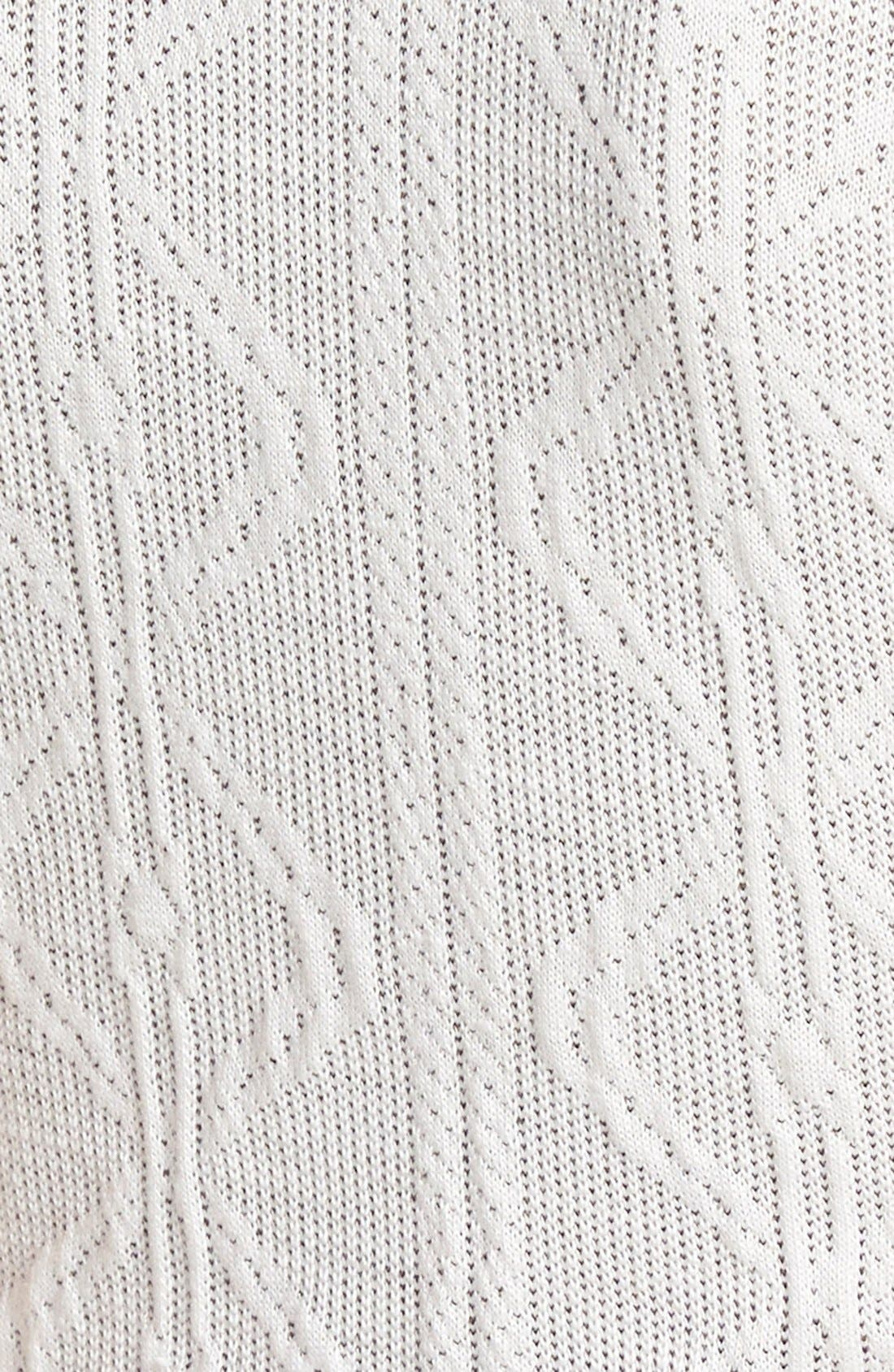 Alternate Image 3  - Leith Knit Sleeveless Mock Neck Crop Top