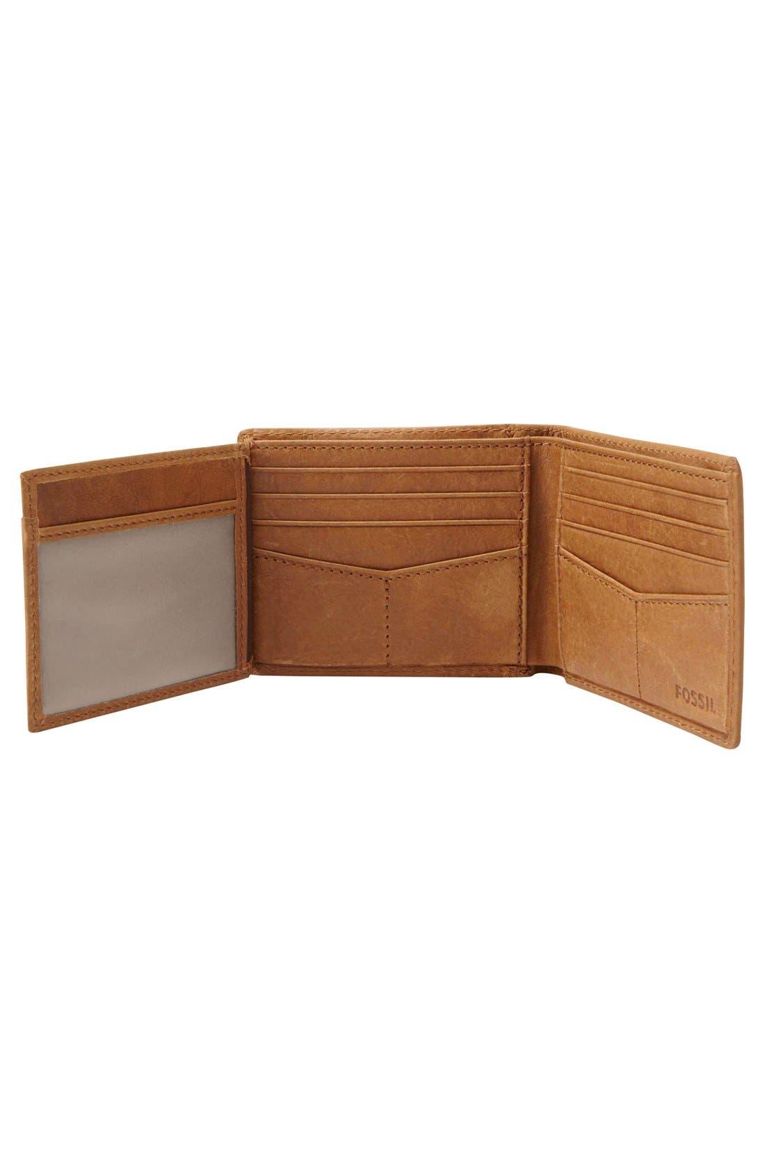 Alternate Image 3  - Fossil Ingram Traveler Wallet