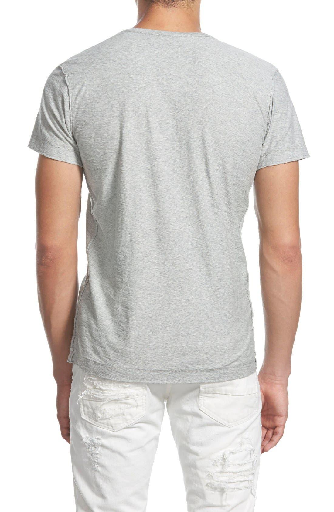 Alternate Image 2  - DIESEL® 'Tossik' V-Neck T-Shirt