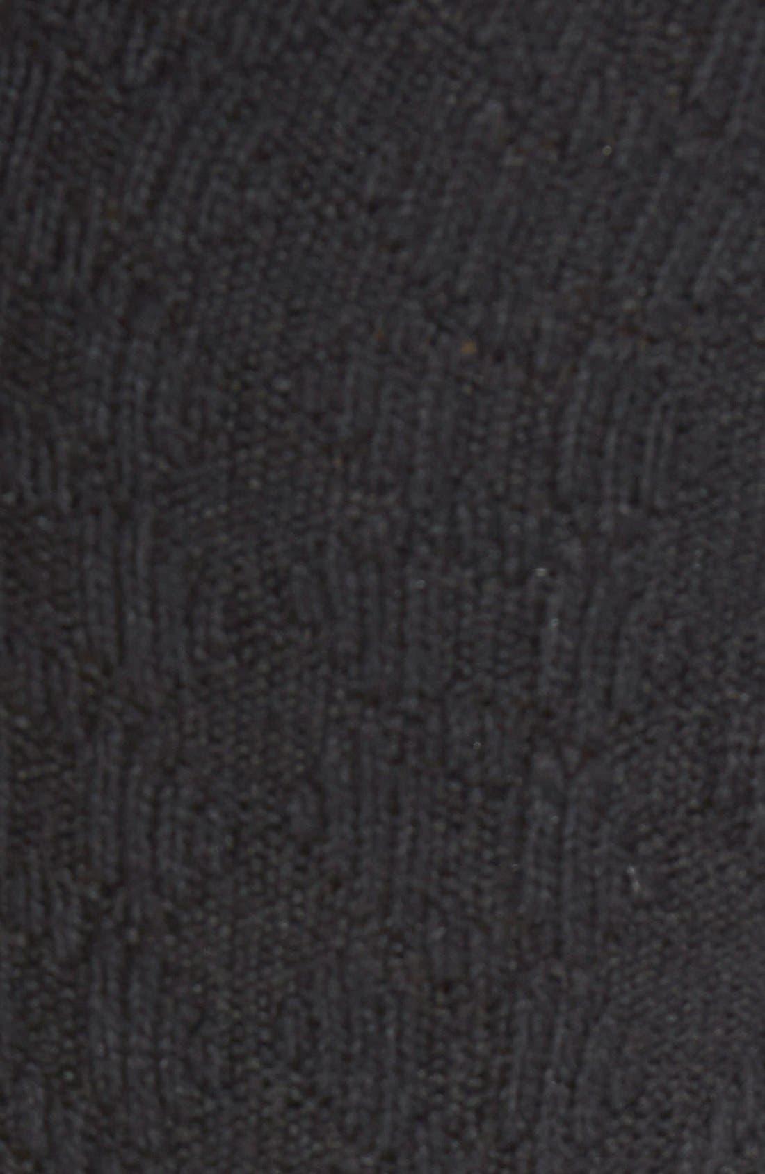 Alternate Image 2  - Hue 'Fisherman' Cable Knit Knee High Socks
