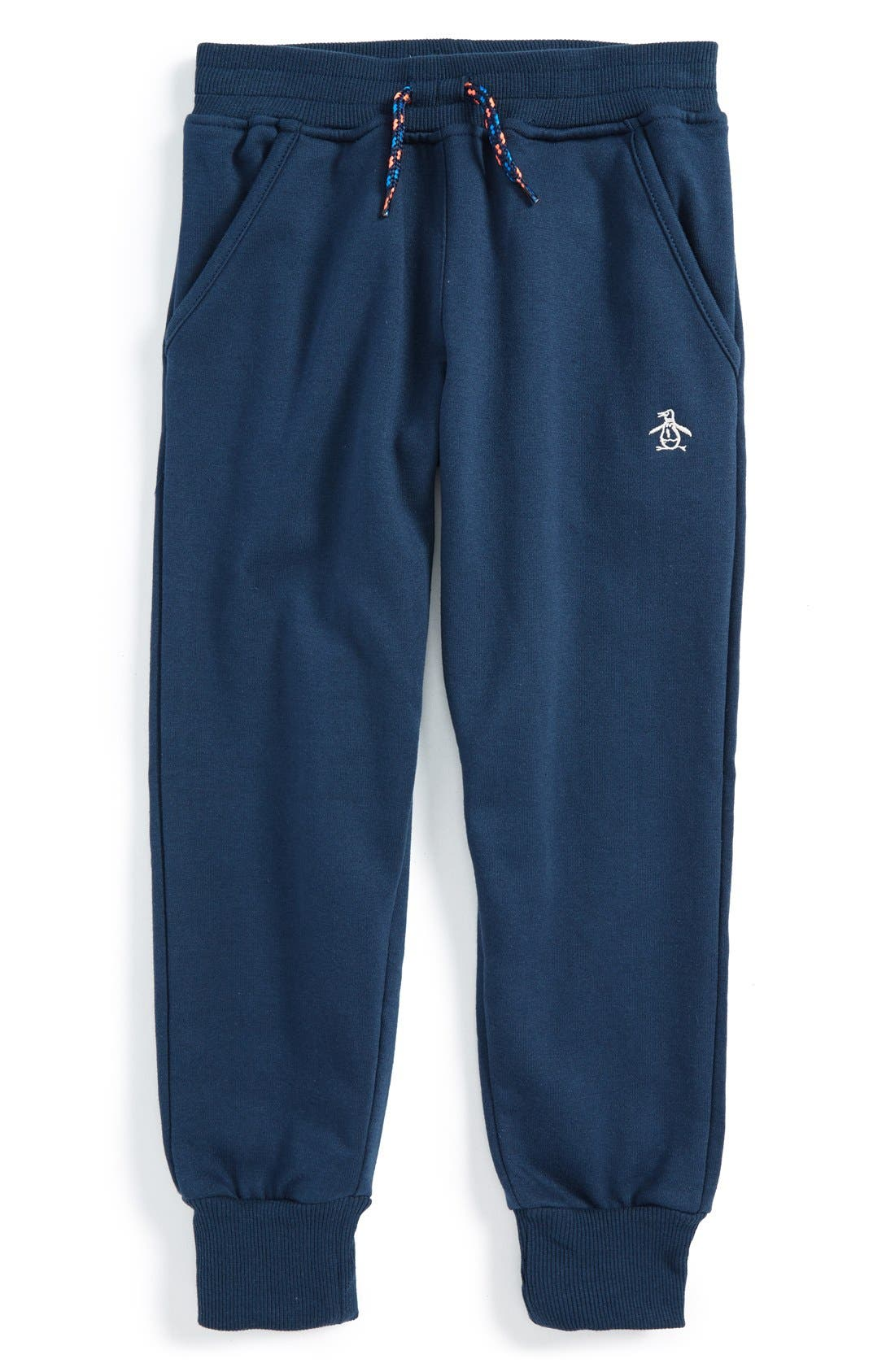 Alternate Image 1 Selected - Original Penguin Jogger Sweatpants (Little Boys)