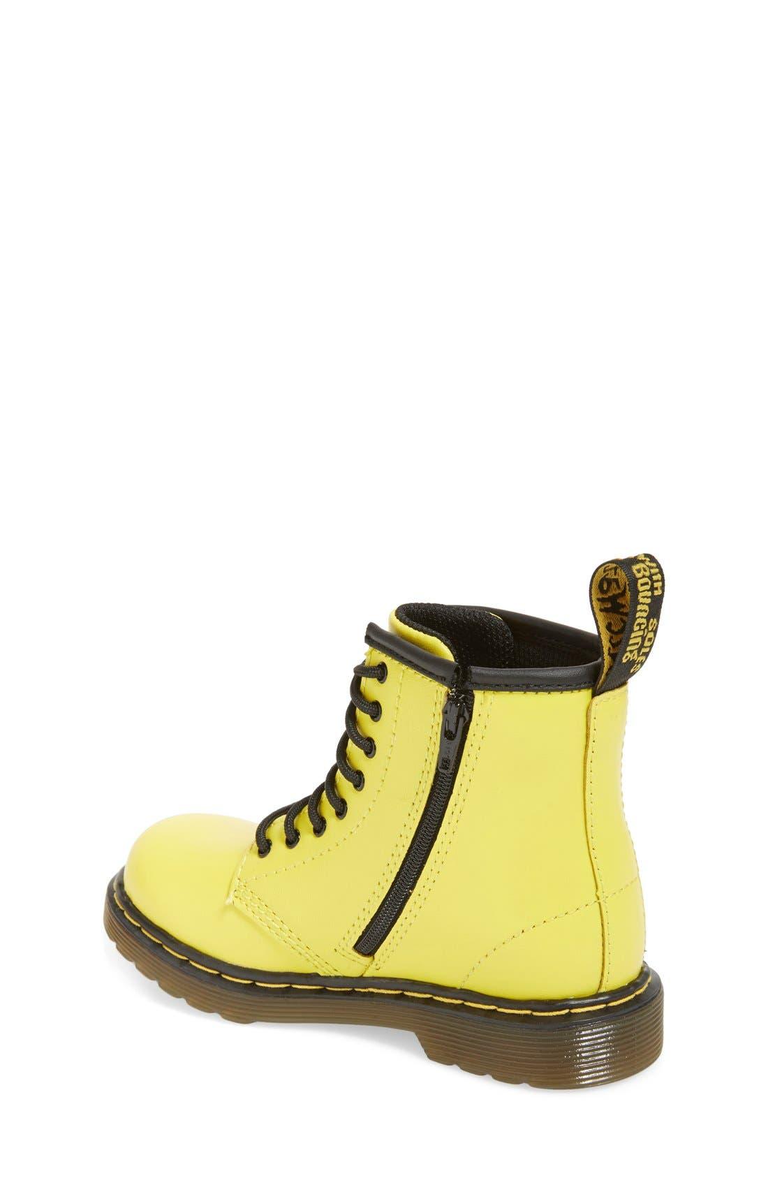 Alternate Image 4  - Dr. Martens 'Brooklee' Leather Boot (Walker & Toddler)
