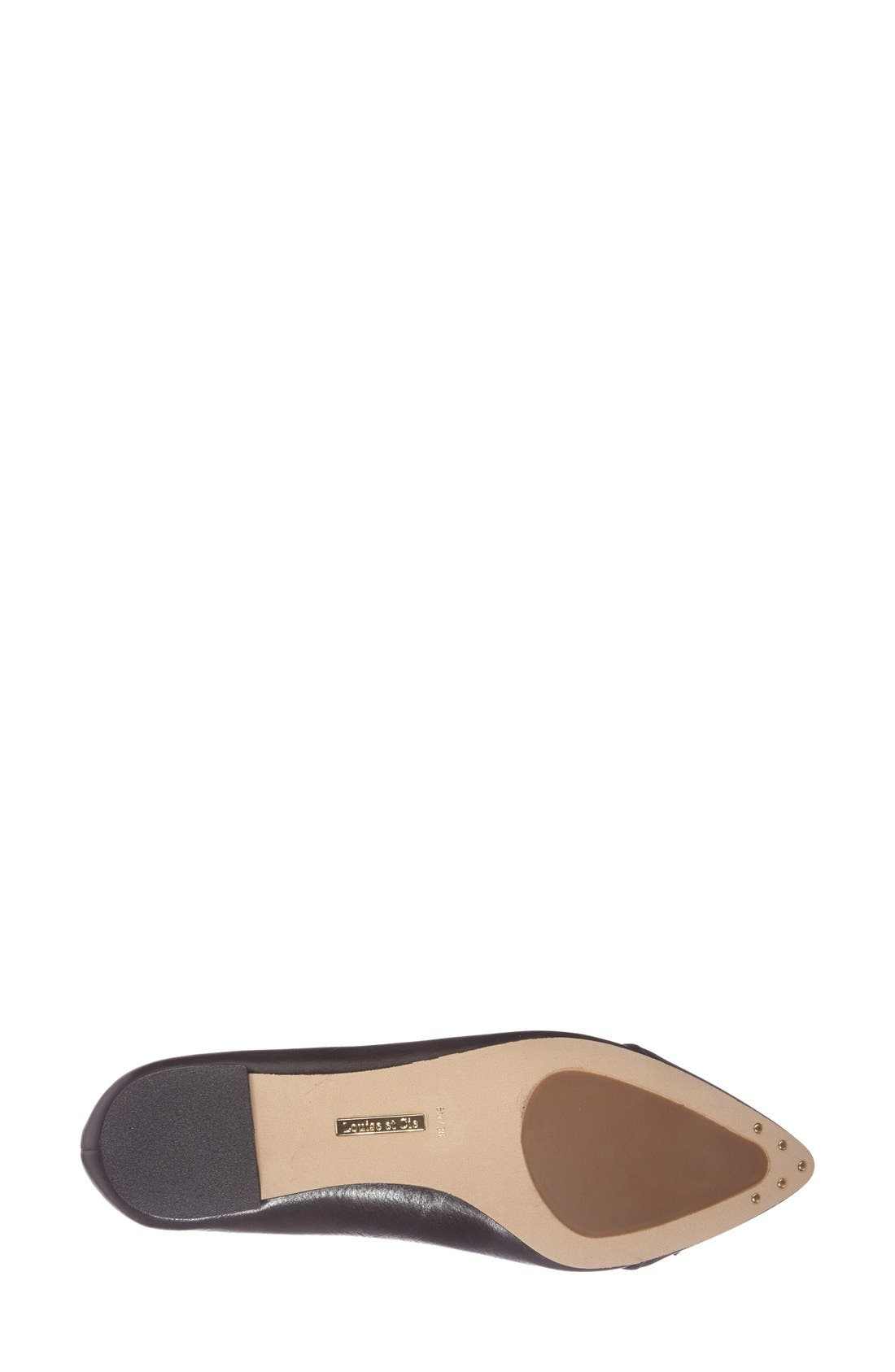 Alternate Image 4  - Louise et Cie 'Baylee' Tassel Pointy Toe Loafer (Women)