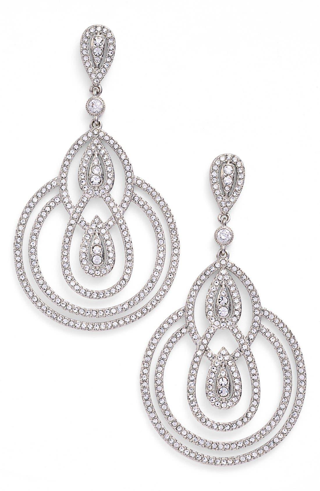 Main Image - Nadri Teardrop Earrings