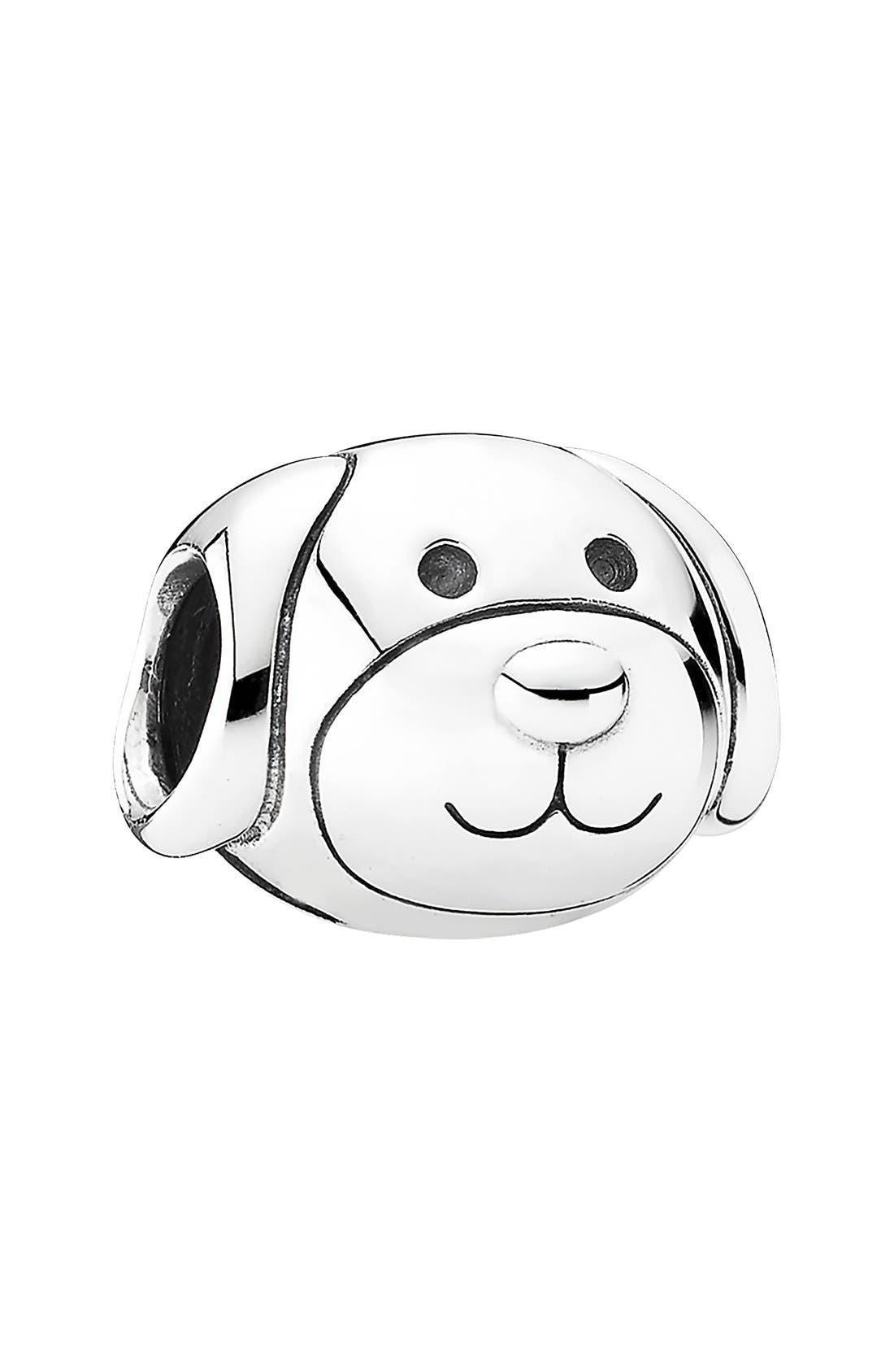 Alternate Image 1 Selected - PANDORA 'Devoted Dog' Charm