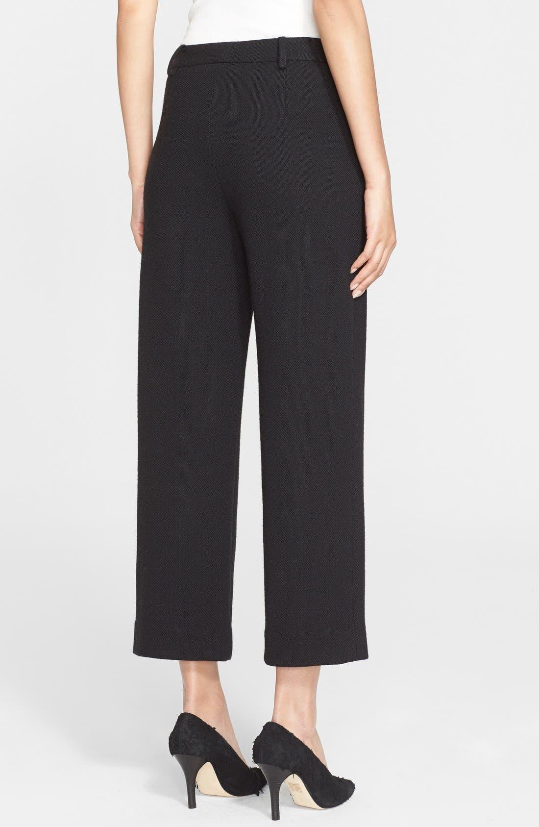Alternate Image 2  - Helmut Lang Crop Wool Pants