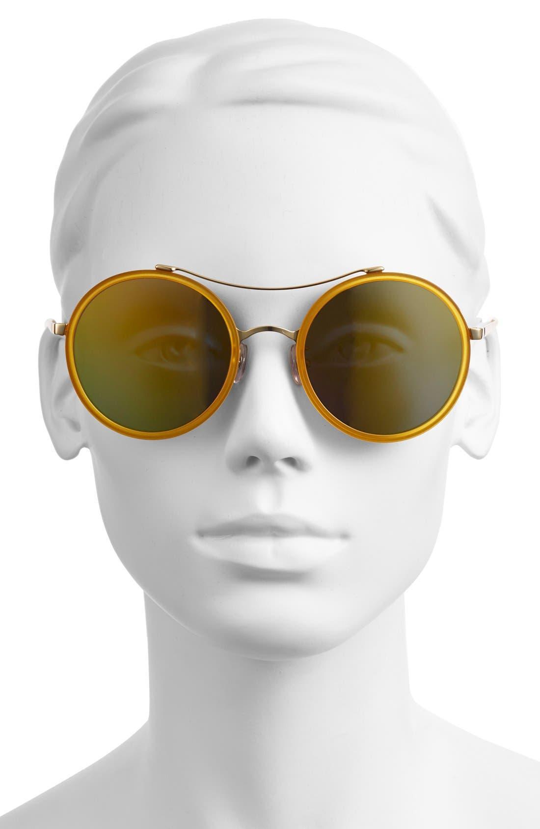 Alternate Image 2  - Gentle Monster 52mm Round Sunglasses