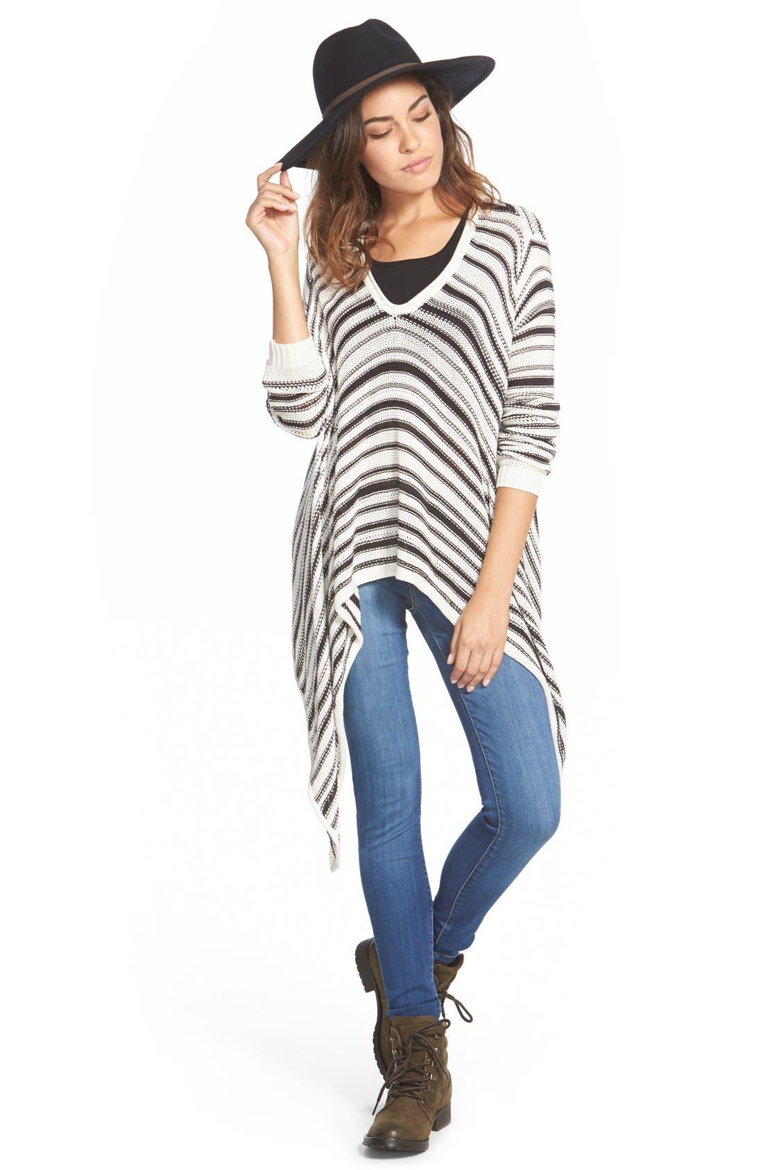 Alternate Image 1 Selected - Billabong 'Love Lock' Stripe Cotton Sweater