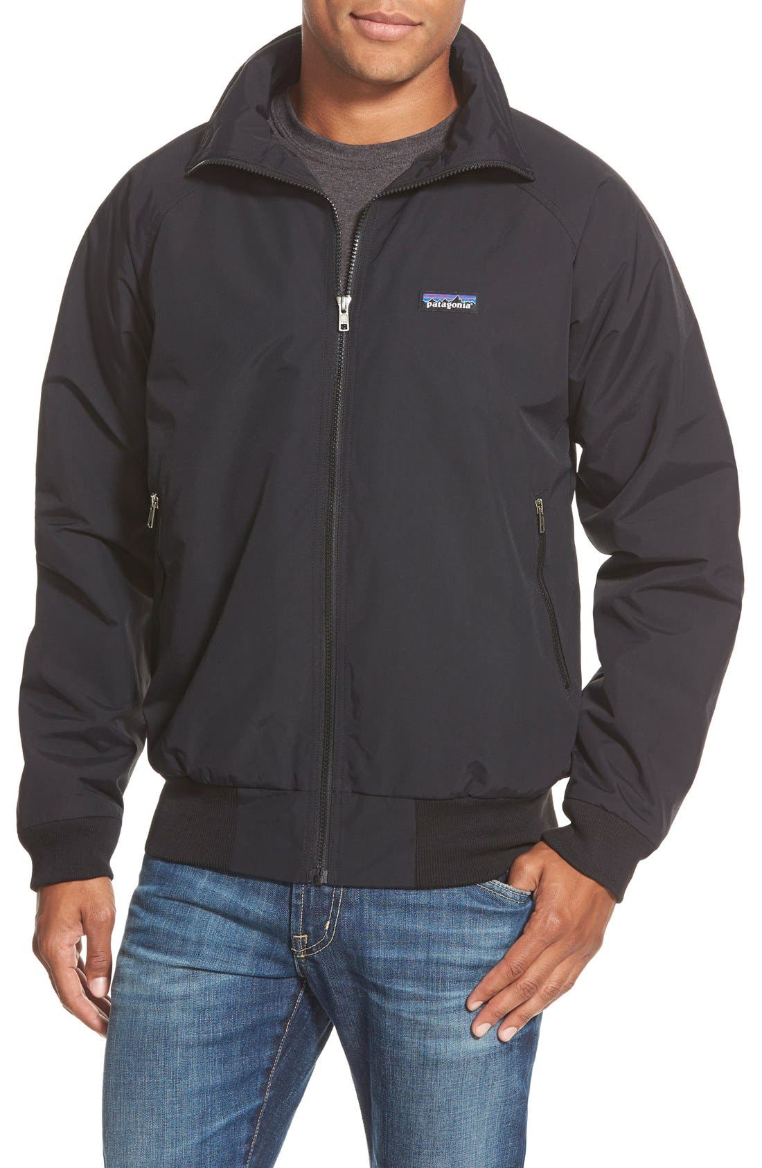 Alternate Image 1 Selected - Patagonia 'Synchilla®' DWR Shell Bomber Jacket