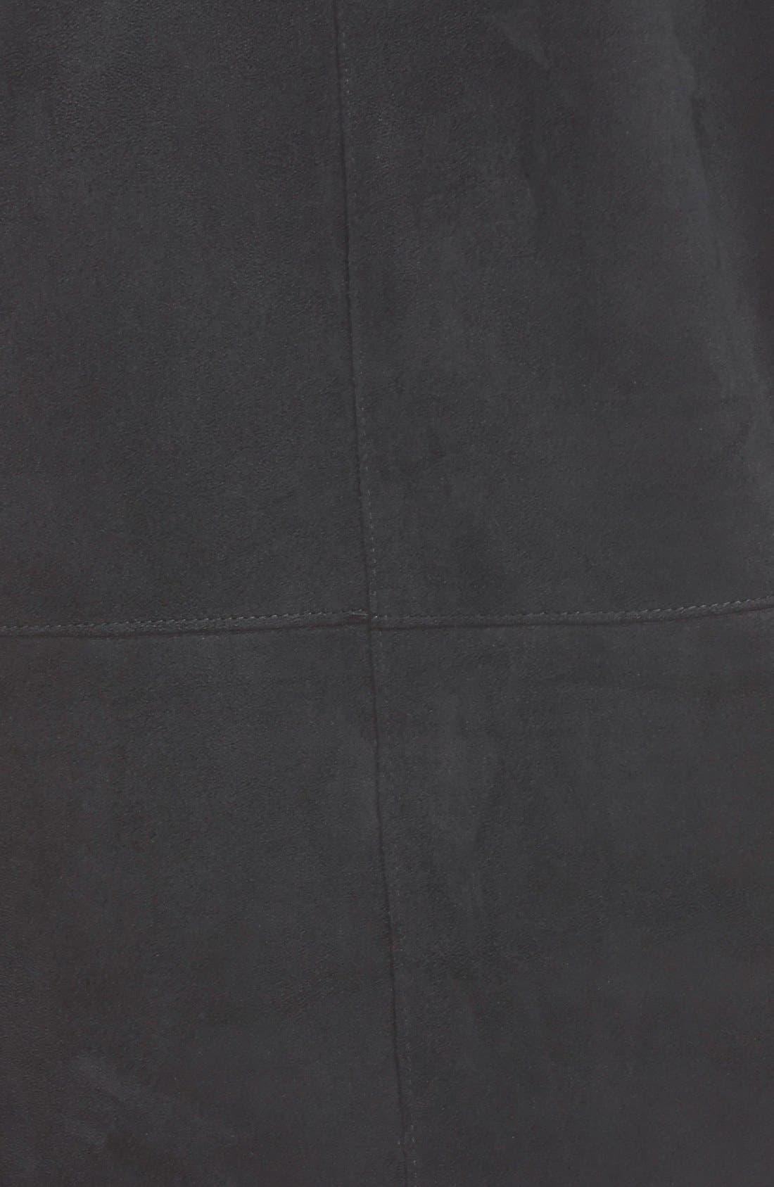 Alternate Image 3  - Raga 'Rule Breaker' Faux Leather Shift Dress