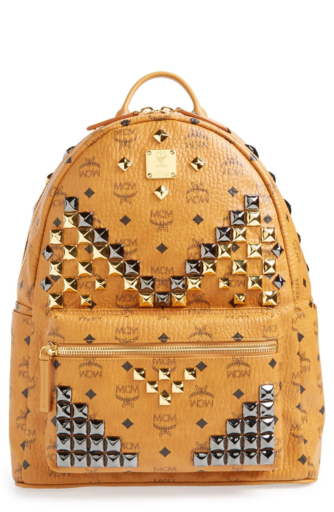 Alternate Image 1 Selected - MCM 'Medium Stark M' Stud Backpack
