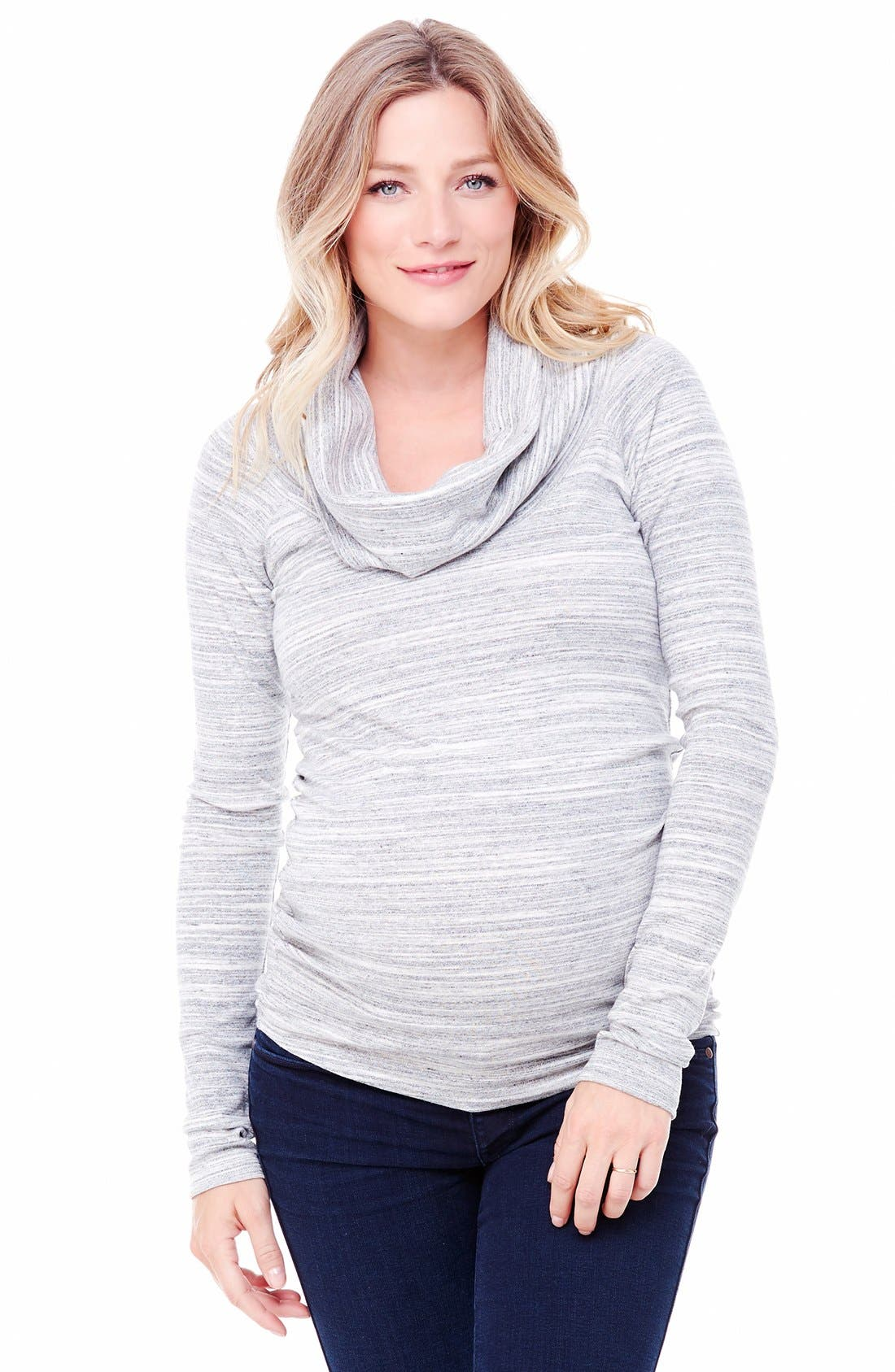 Ingrid & Isabel® Cowl Neck Maternity Tee