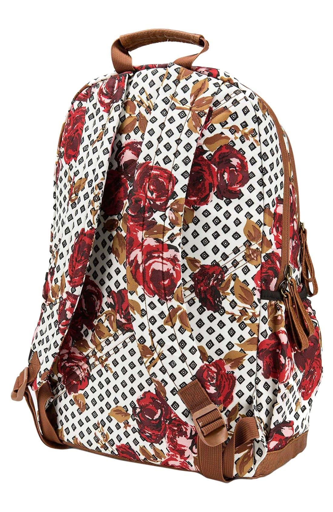 Alternate Image 2  - Volcom 'Fieldtrip' Print Backpack