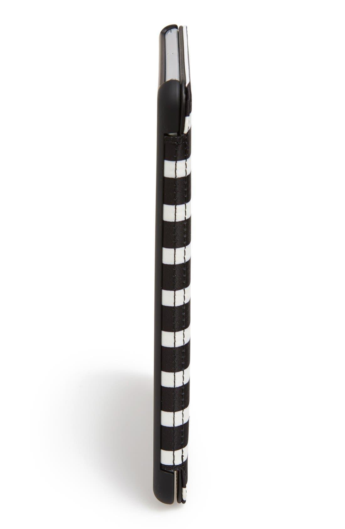 Alternate Image 3  - kate spade new york 'classic nylon stripe' iPad mini folio case