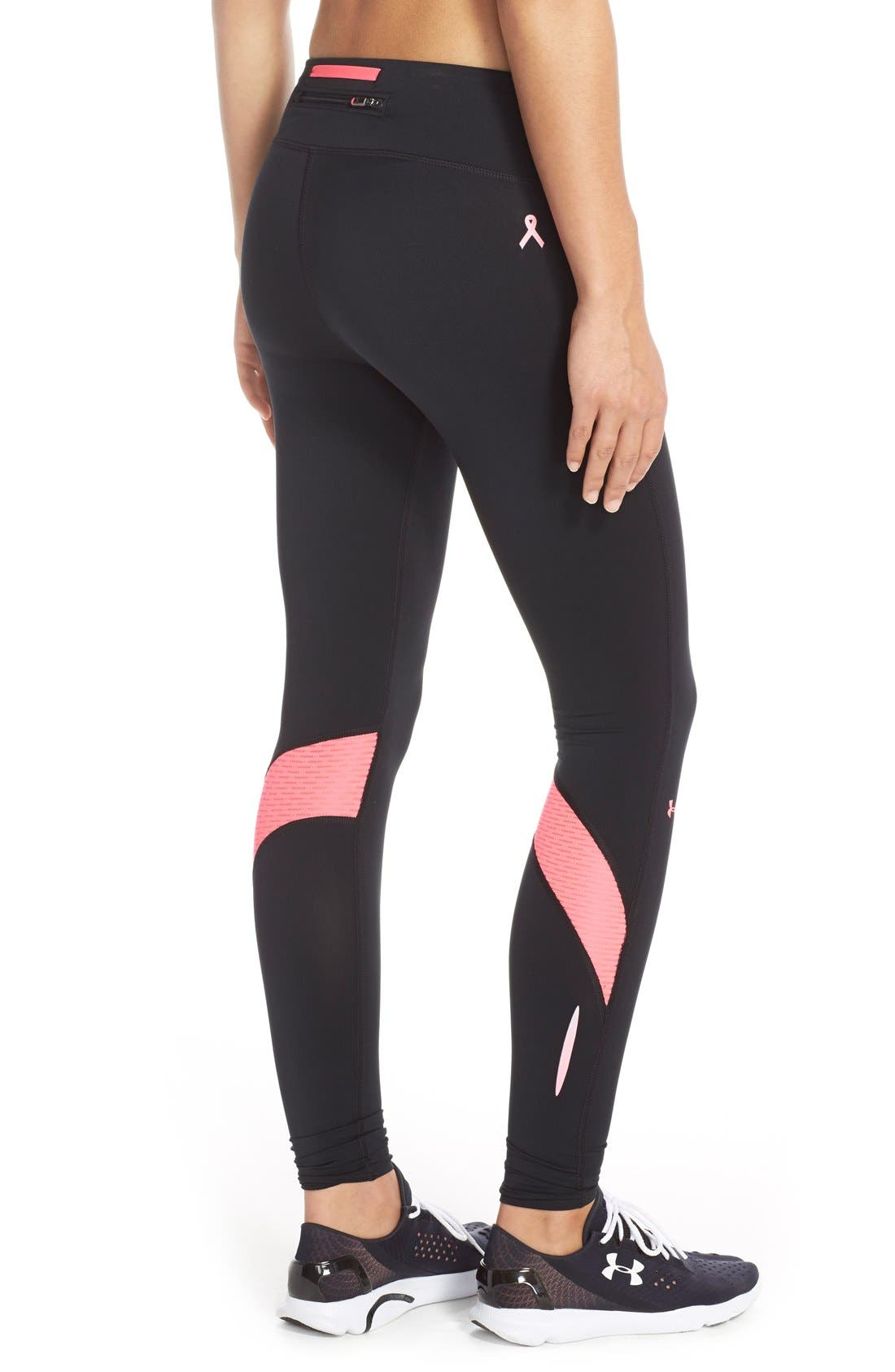 Alternate Image 2  - Under Armour 'Fly By' Compression Leggings