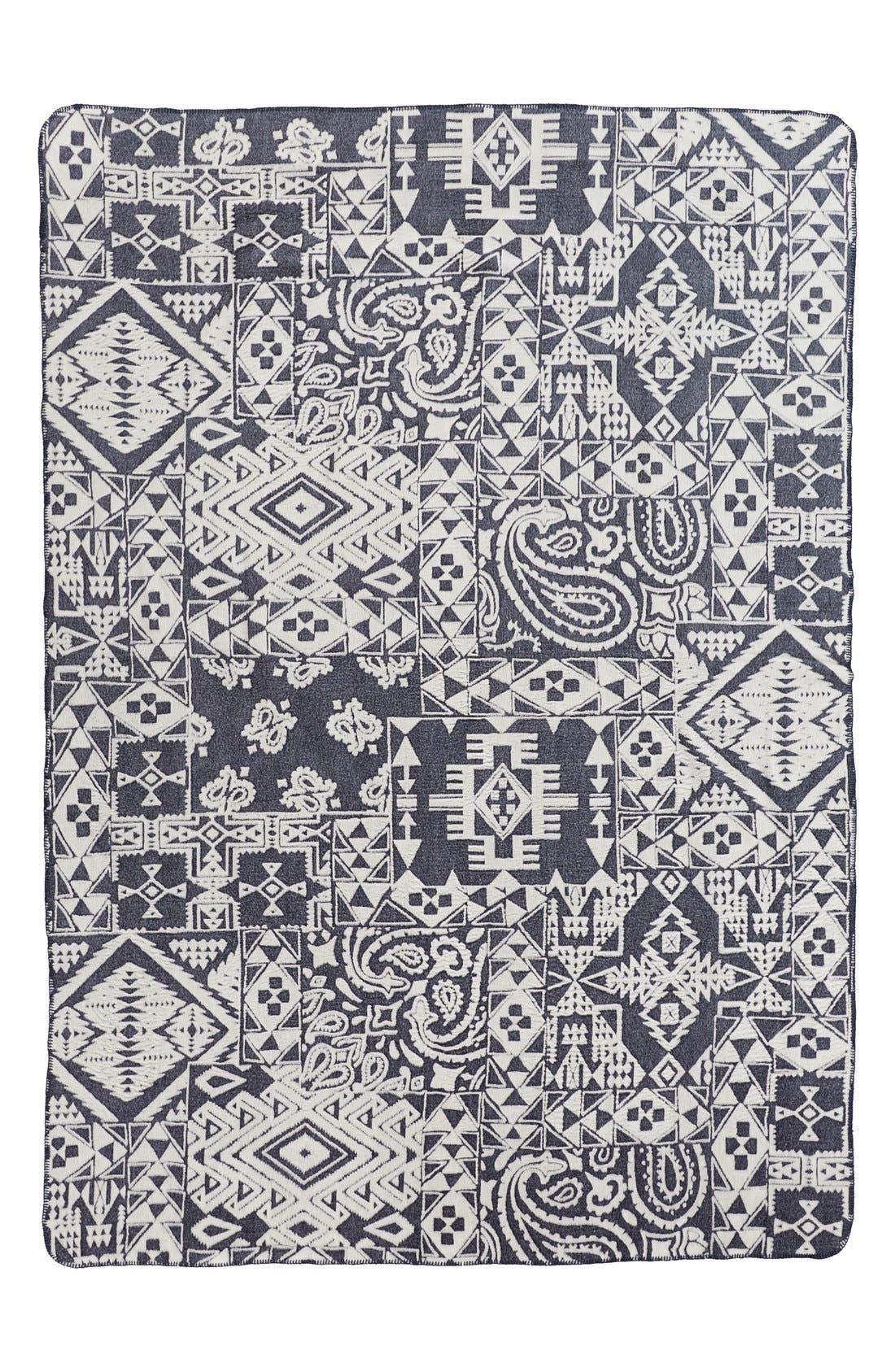 Main Image - Pendleton 'Bandana' Cotton Jacquard Blanket